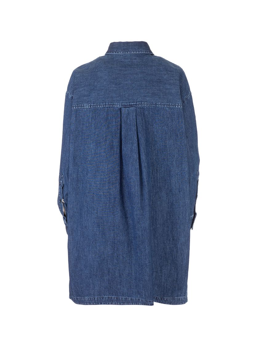 VALENTINO Dresses VALENTINO WOMEN'S BLUE COTTON DRESS