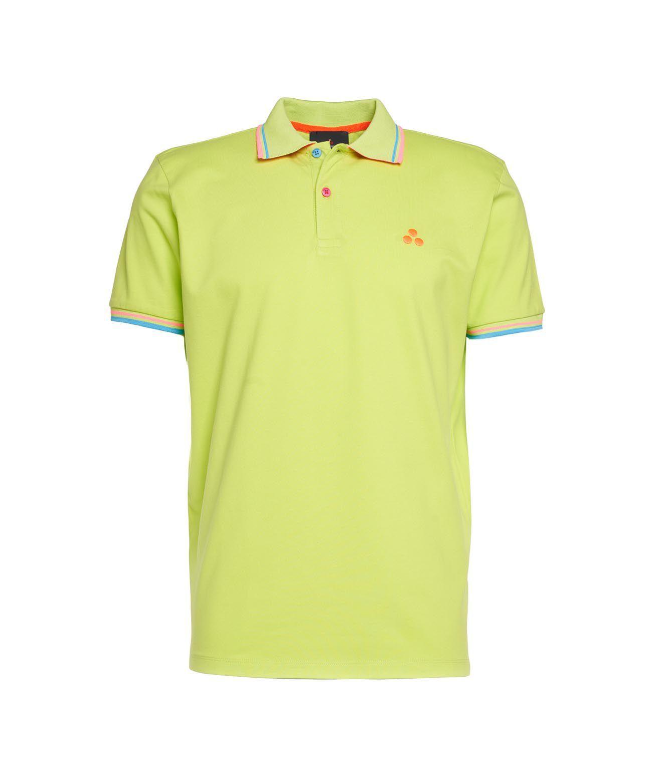 Peuterey Shirts PEUTEREY MEN'S GREEN OTHER MATERIALS POLO SHIRT