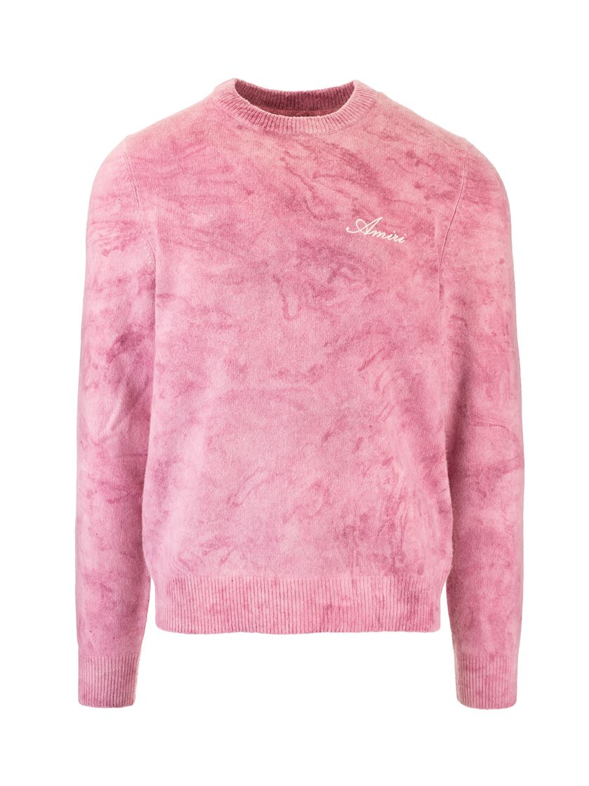 Amiri AMIRI MEN'S PINK WOOL SWEATER
