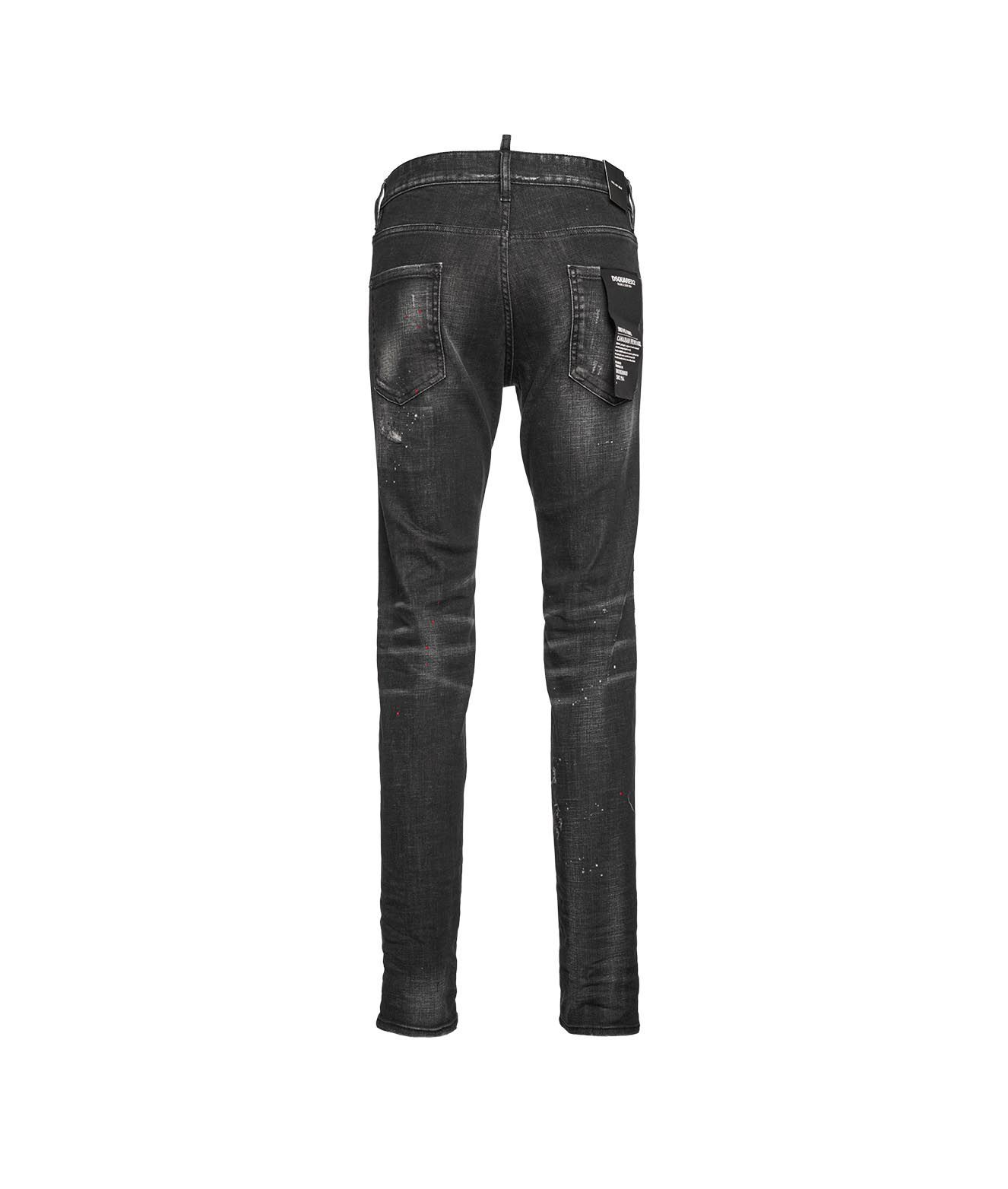 DSQUARED2 Jeans DSQUARED2 MEN'S GREY OTHER MATERIALS JEANS