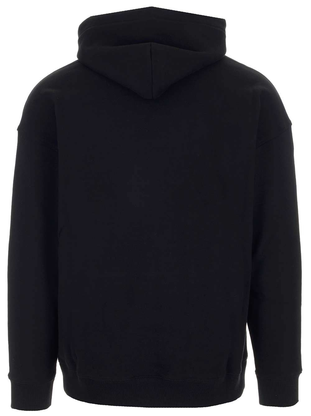 GIVENCHY Cottons GIVENCHY MEN'S BLACK OTHER MATERIALS SWEATSHIRT