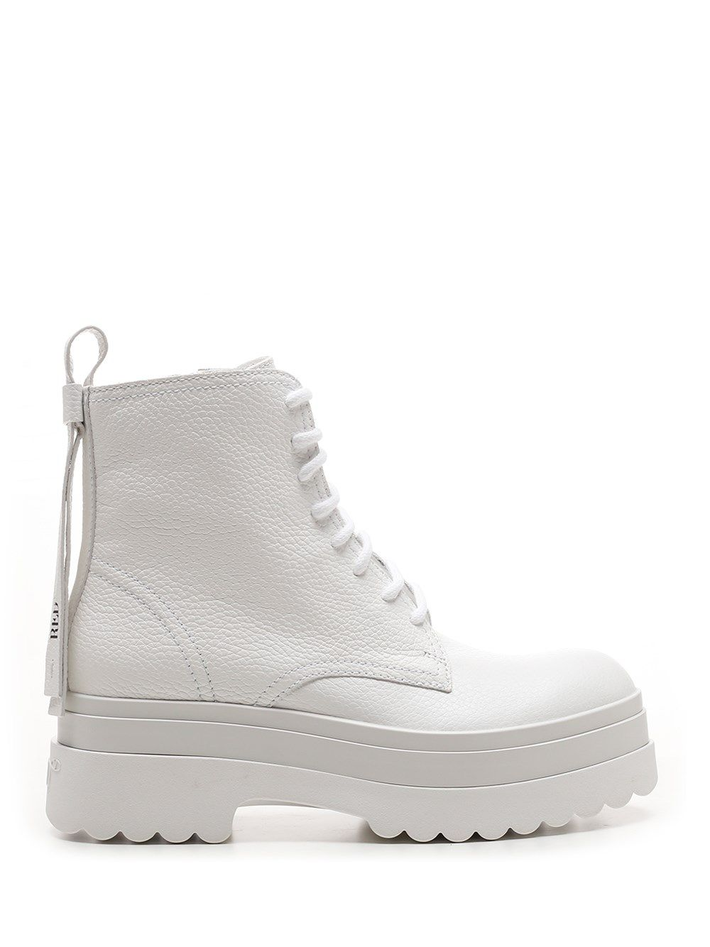 Red Valentino Mid heels RED VALENTINO WOMEN'S WHITE OTHER MATERIALS BOOTS