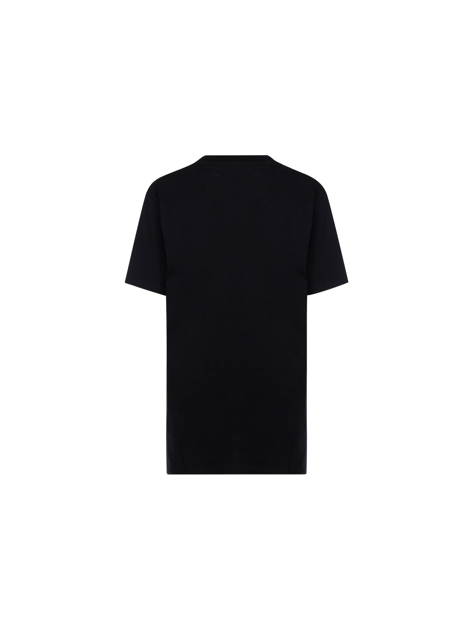 LOEWE Cottons LOEWE WOMEN'S BLACK COTTON T-SHIRT