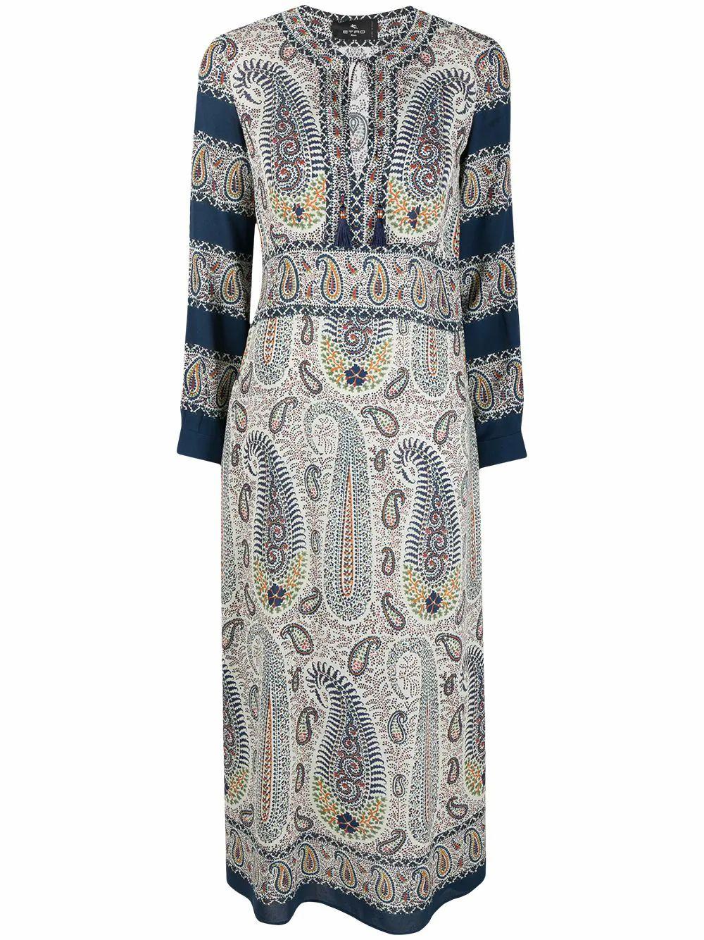 Etro Dresses ETRO WOMEN'S BLUE VISCOSE DRESS