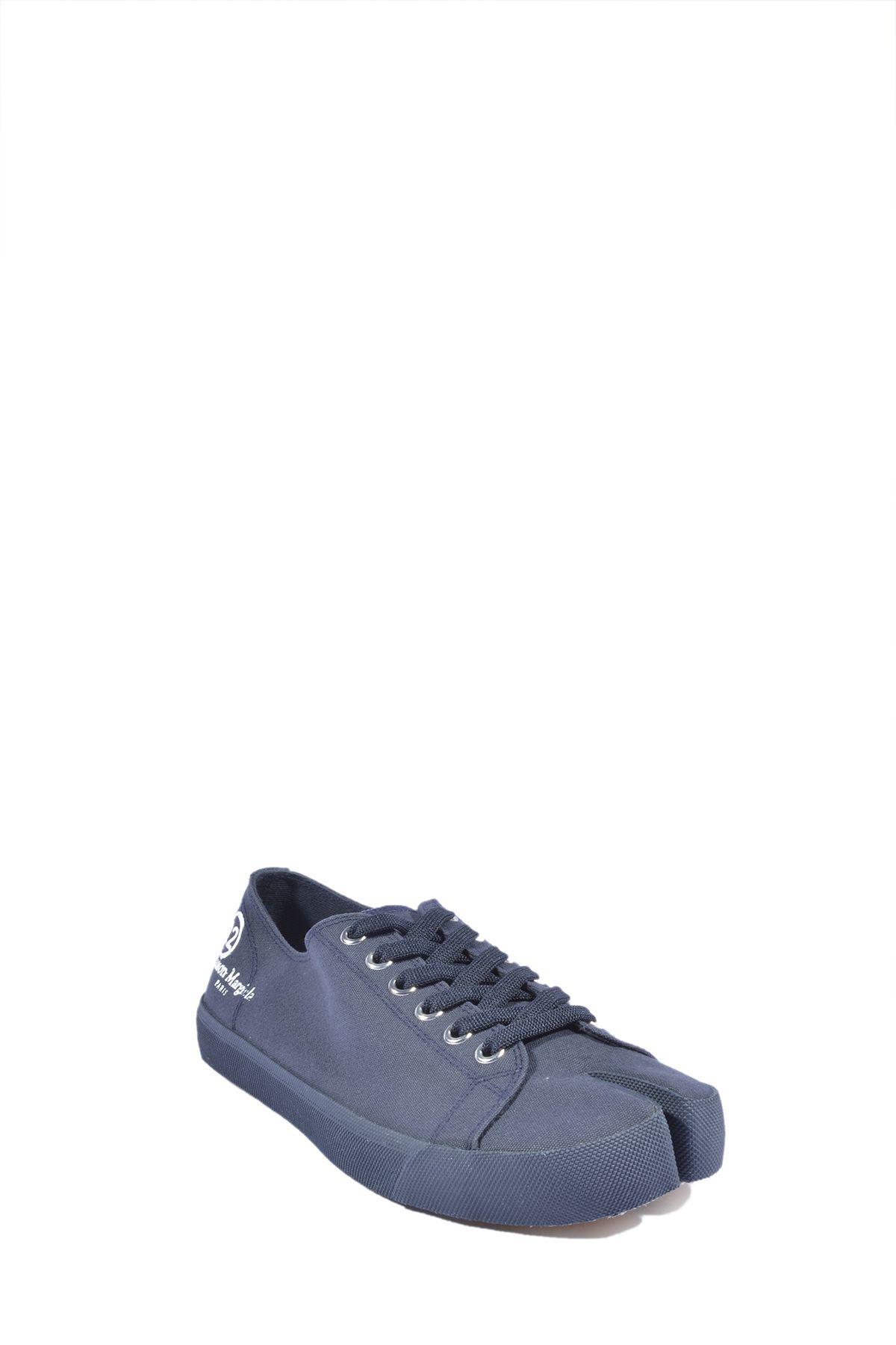 MAISON MARGIELA Sneakers MAISON MARGIELA MEN'S BLUE FABRIC SNEAKERS