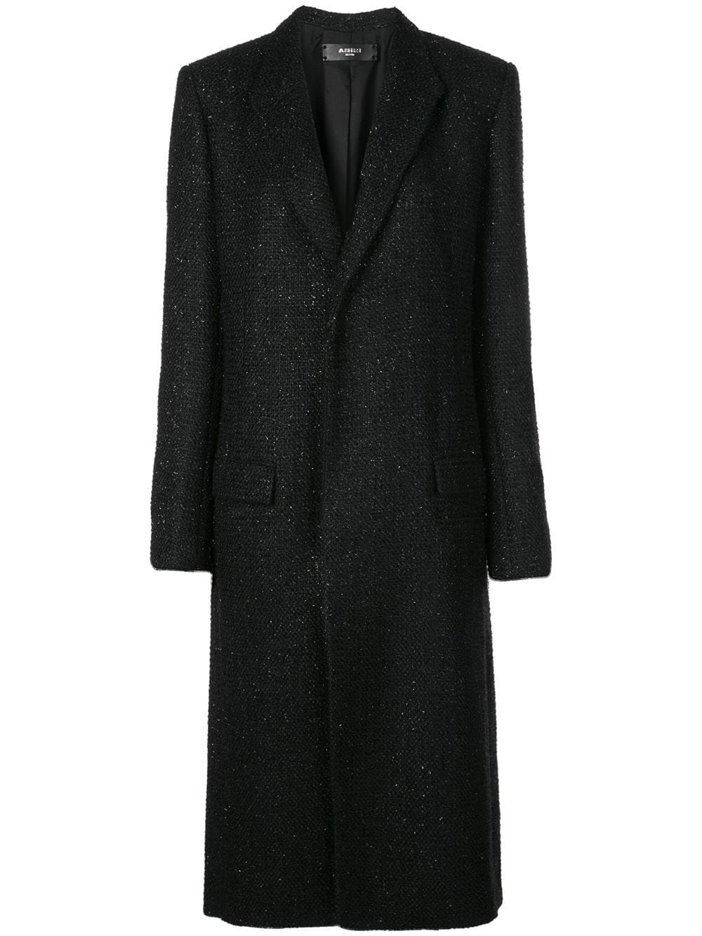 Amiri BLACK POLYESTER COAT