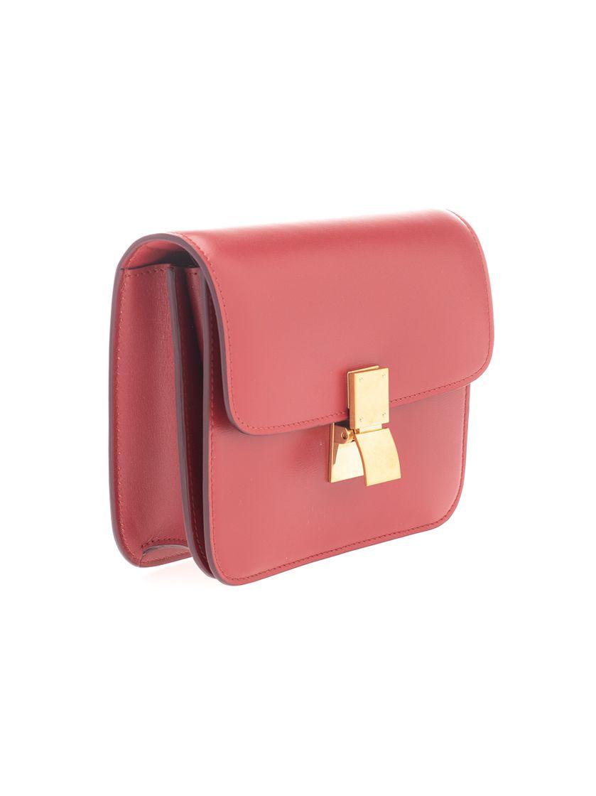 CELINE Leathers CÉLINE WOMEN'S RED LEATHER SHOULDER BAG