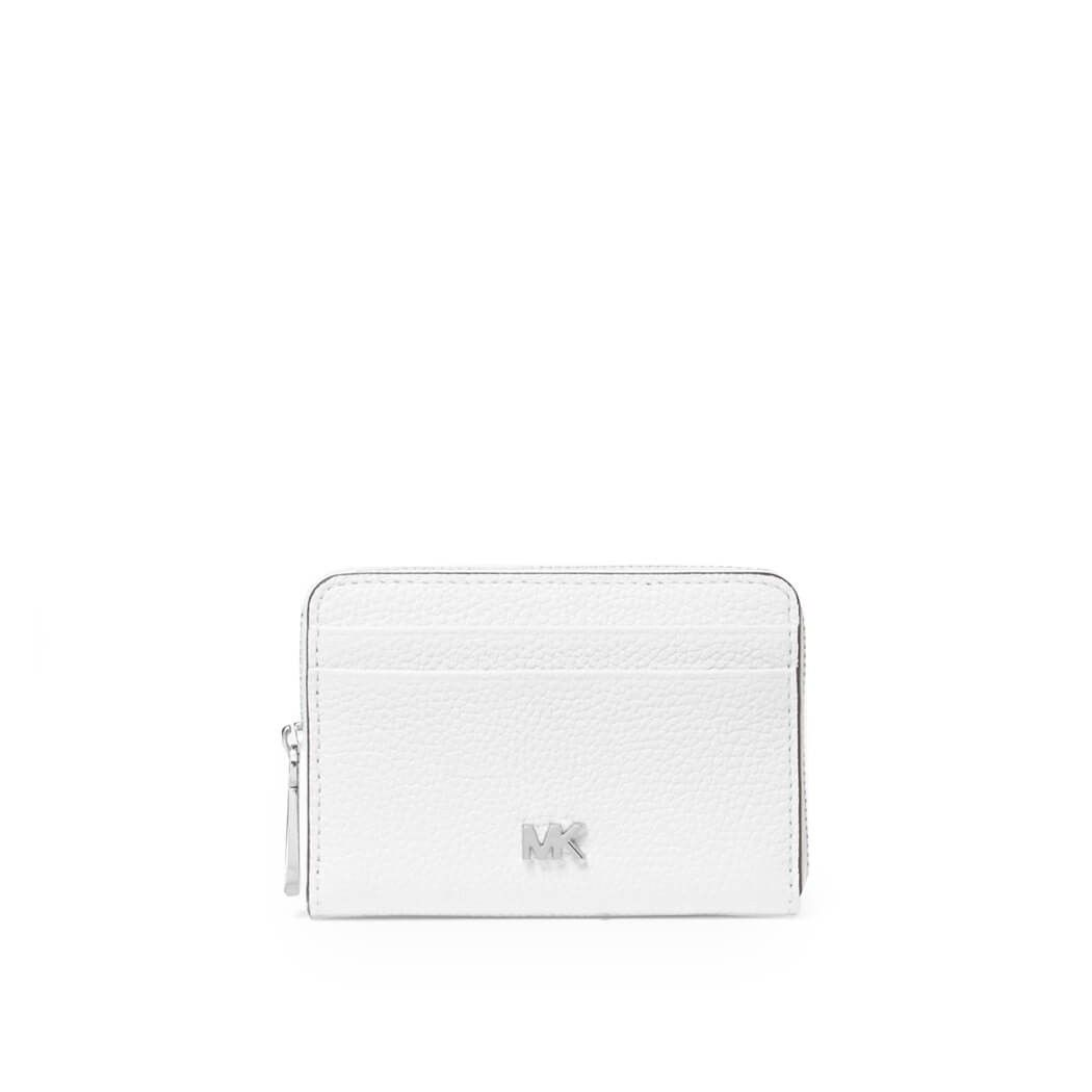 Michael Kors Wallets MICHAEL KORS WOMEN'S WHITE LEATHER CARD HOLDER