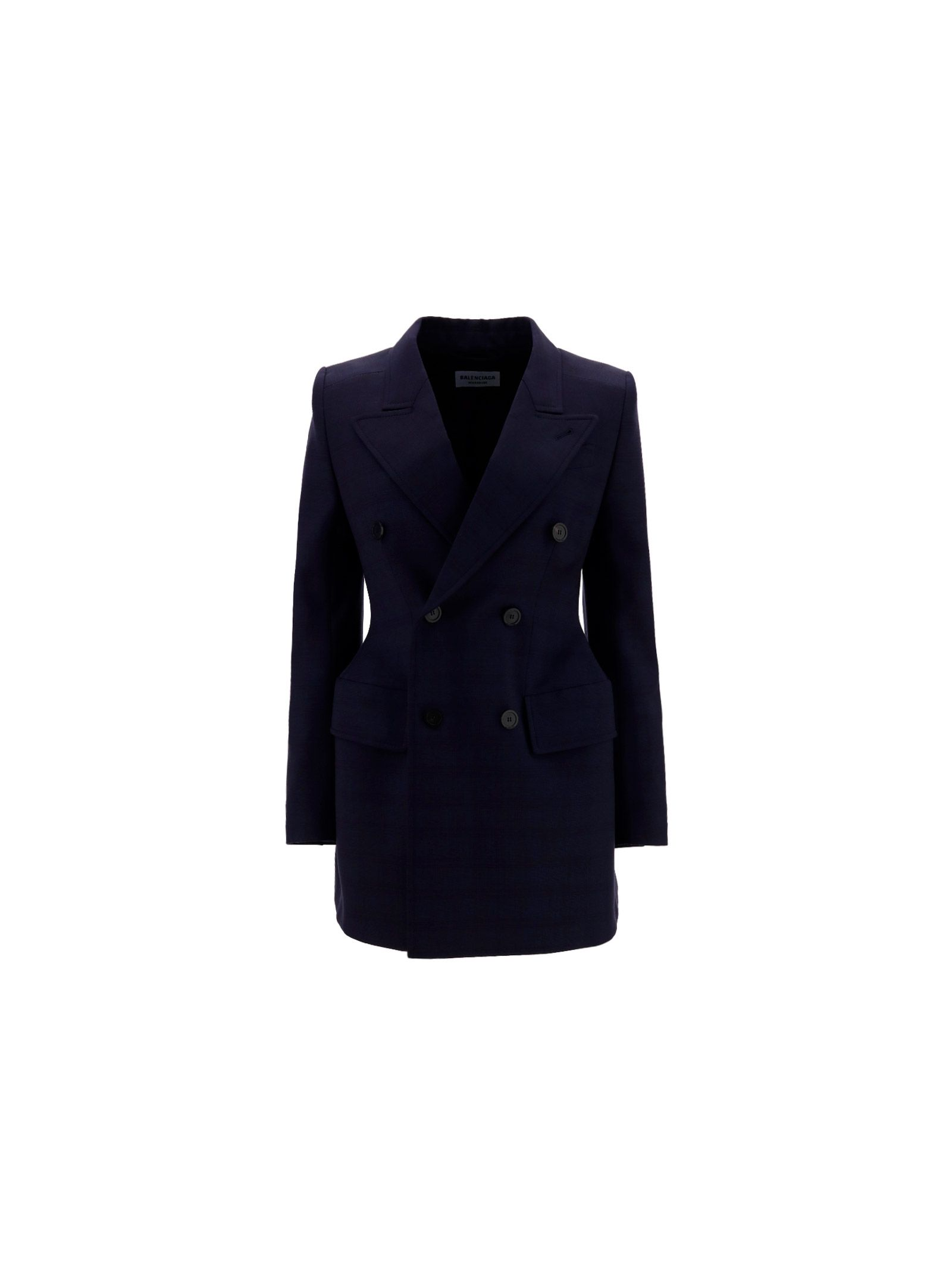 Balenciaga BALENCIAGA WOMEN'S BLUE OTHER MATERIALS BLAZER