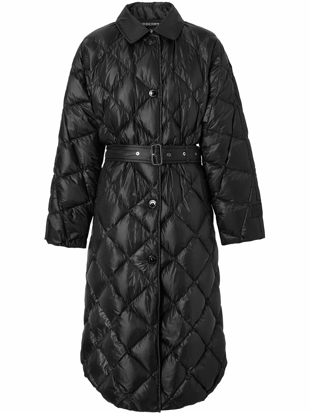 Burberry BURBERRY WOMEN'S BLACK POLYAMIDE OUTERWEAR JACKET