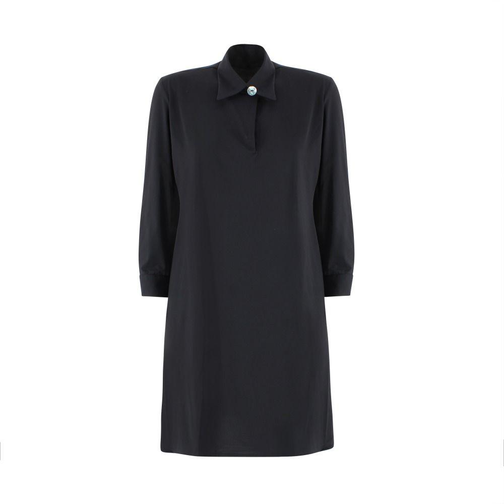 Rrd RRD WOMEN'S BLACK POLYAMIDE DRESS