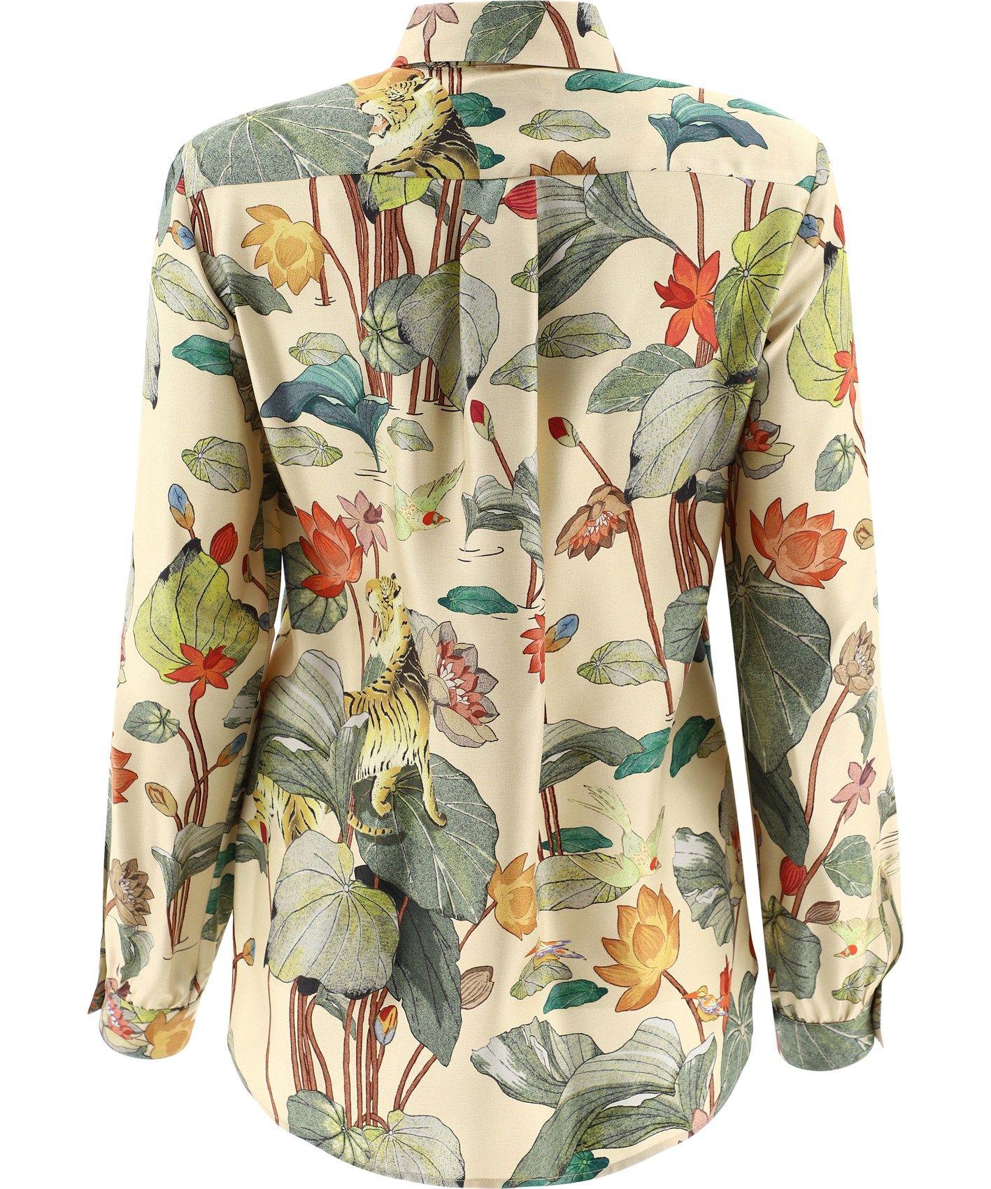 ETRO Shirts ETRO WOMEN'S YELLOW OTHER MATERIALS SHIRT