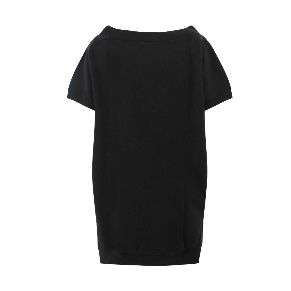 DSQUARED2 Mini dresses DSQUARED2 WOMEN'S BLACK COTTON DRESS