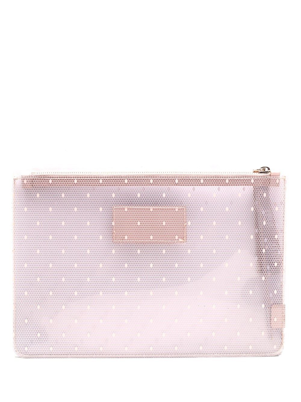 Red Valentino RED VALENTINO WOMEN'S PINK OTHER MATERIALS POUCH