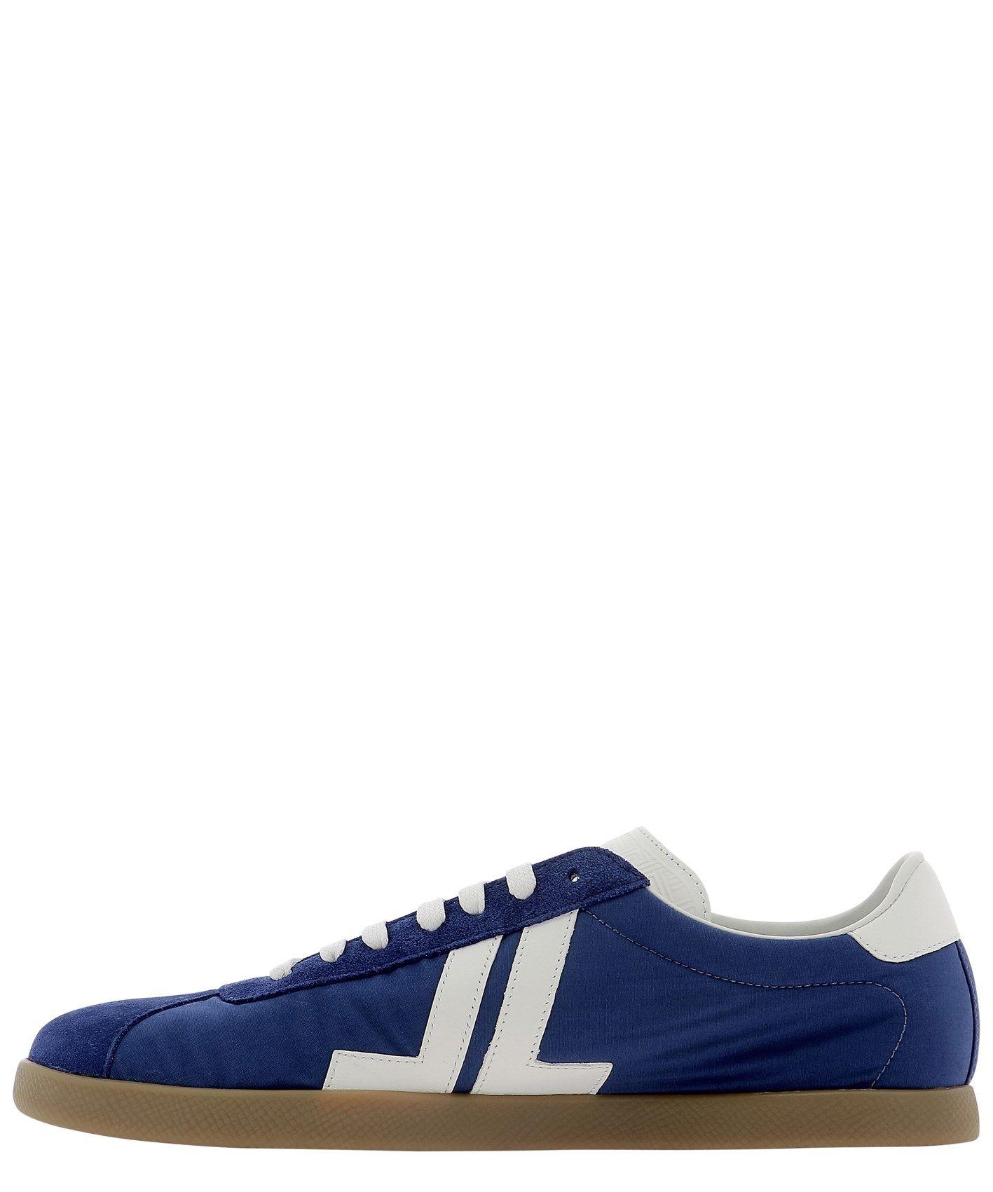 LANVIN Sneakers LANVIN MEN'S BLUE OTHER MATERIALS SNEAKERS