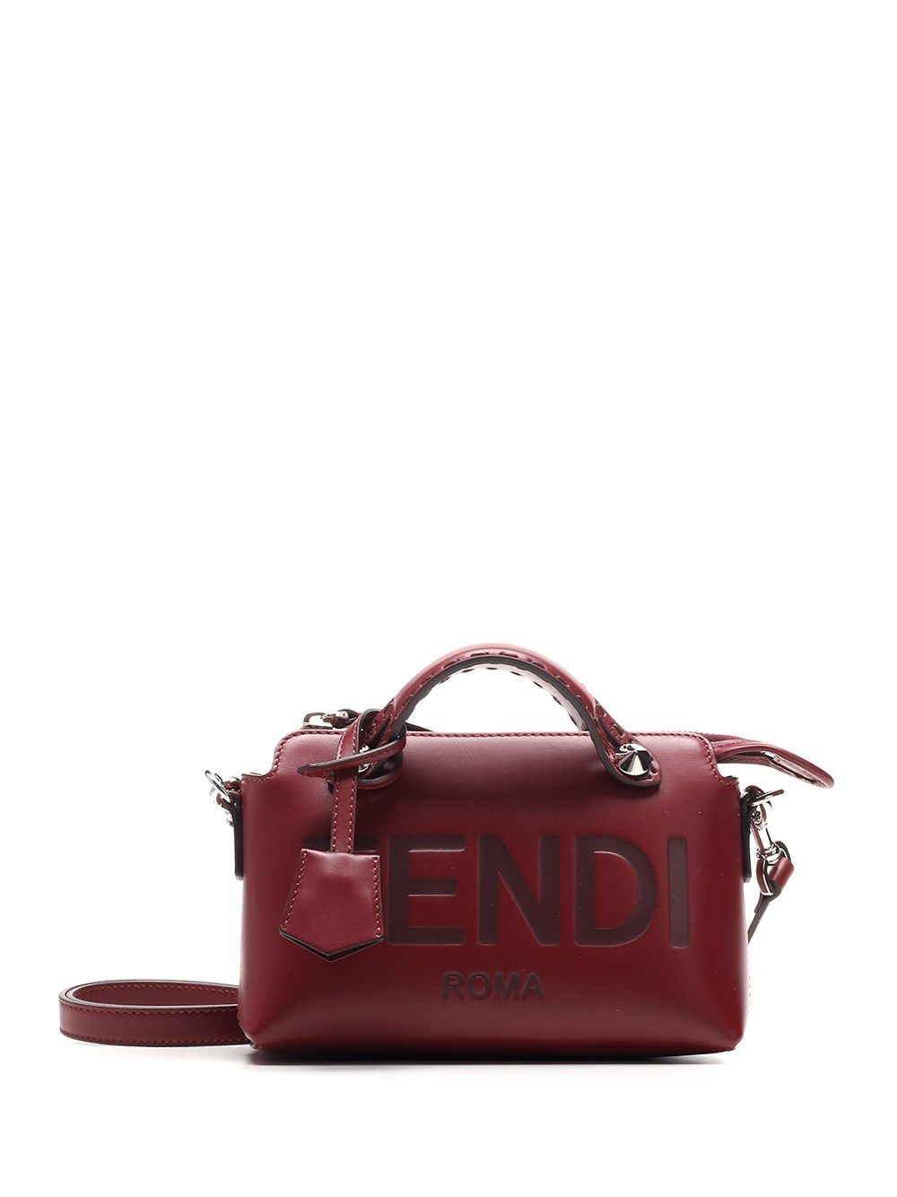 Fendi FENDI WOMEN'S RED OTHER MATERIALS SHOULDER BAG