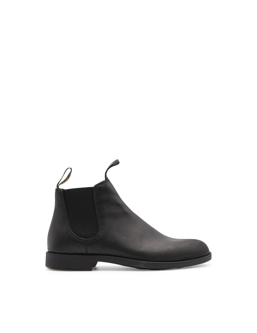 Blundstone Leathers BLUNDSTONE MEN'S BLACK LEATHER ANKLE BOOTS