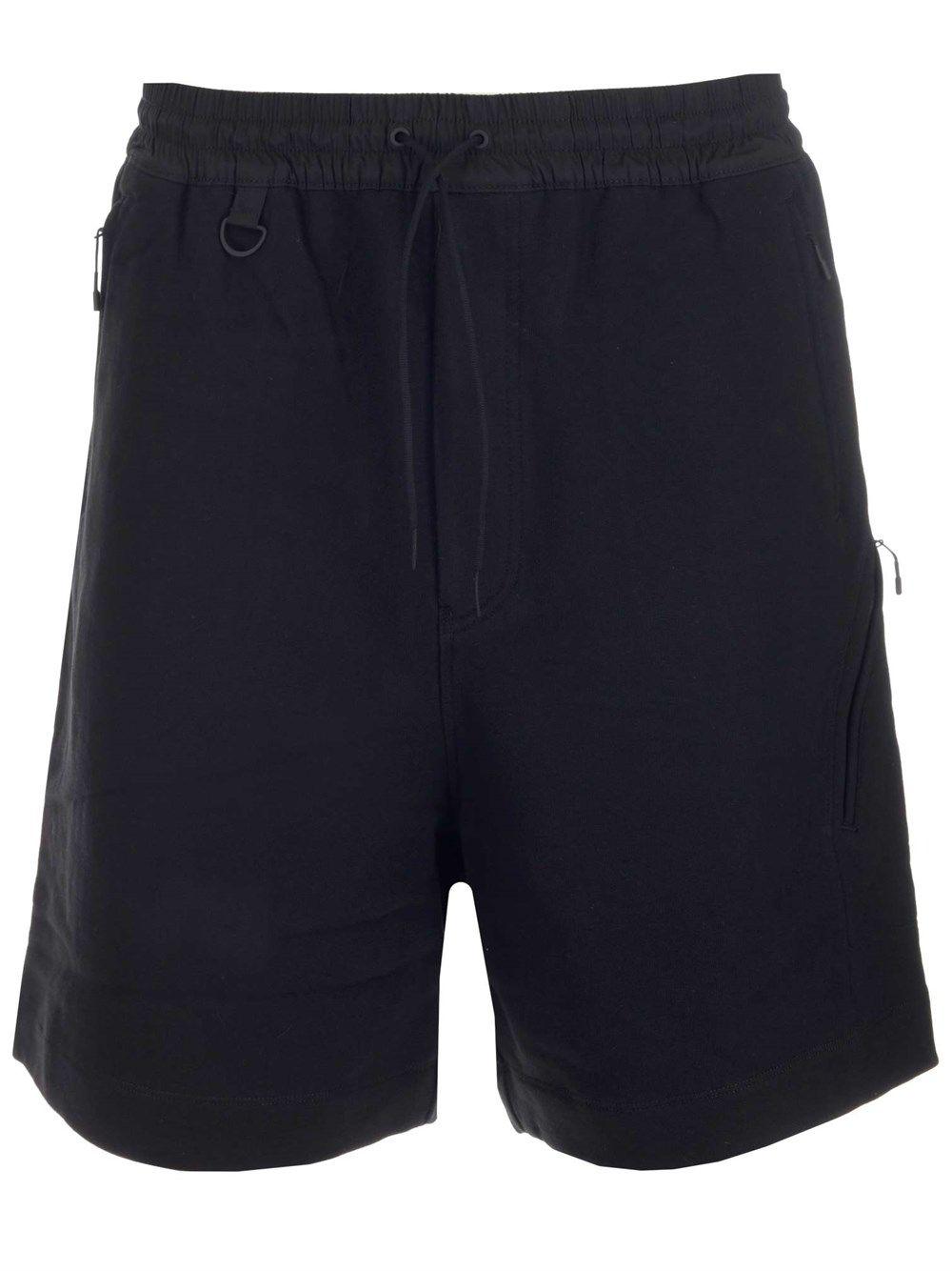 Adidas Y-3 Yohji Yamamoto Shorts ADIDAS Y-3 YOHJI YAMAMOTO MEN'S BLACK OTHER MATERIALS SHORTS