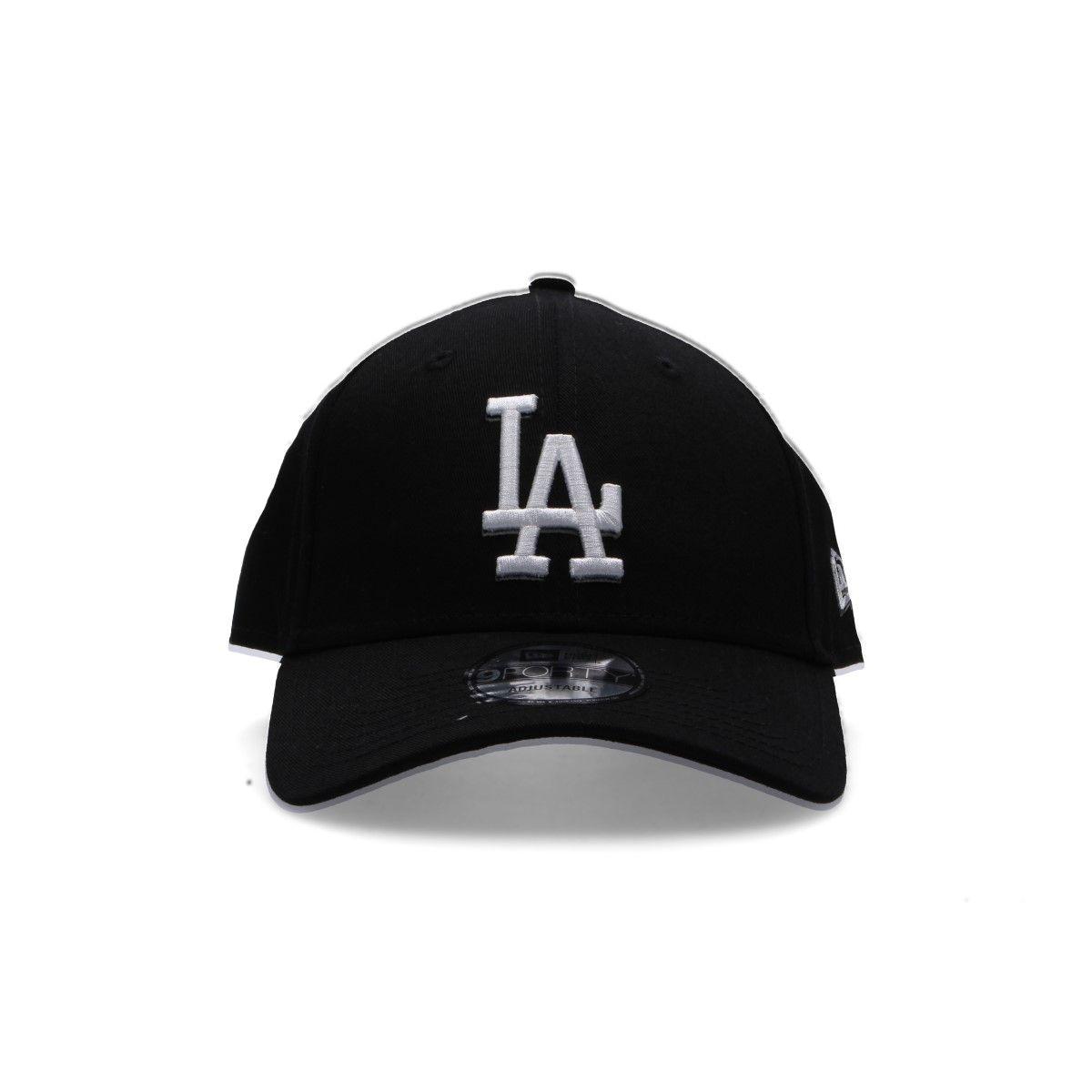New Era Black Fabric Hat