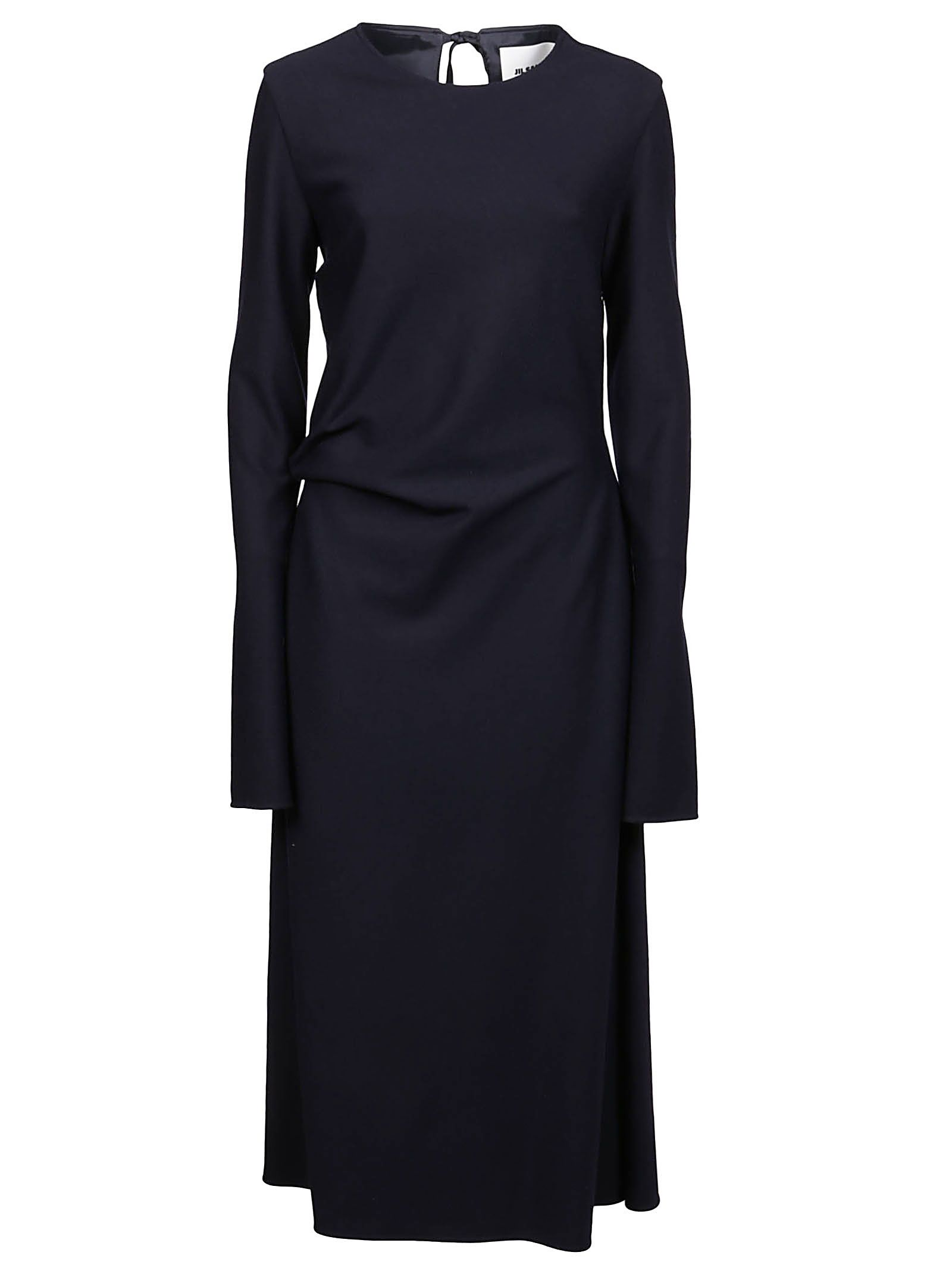 Jil Sander JIL SANDER WOMEN'S BLUE OTHER MATERIALS DRESS