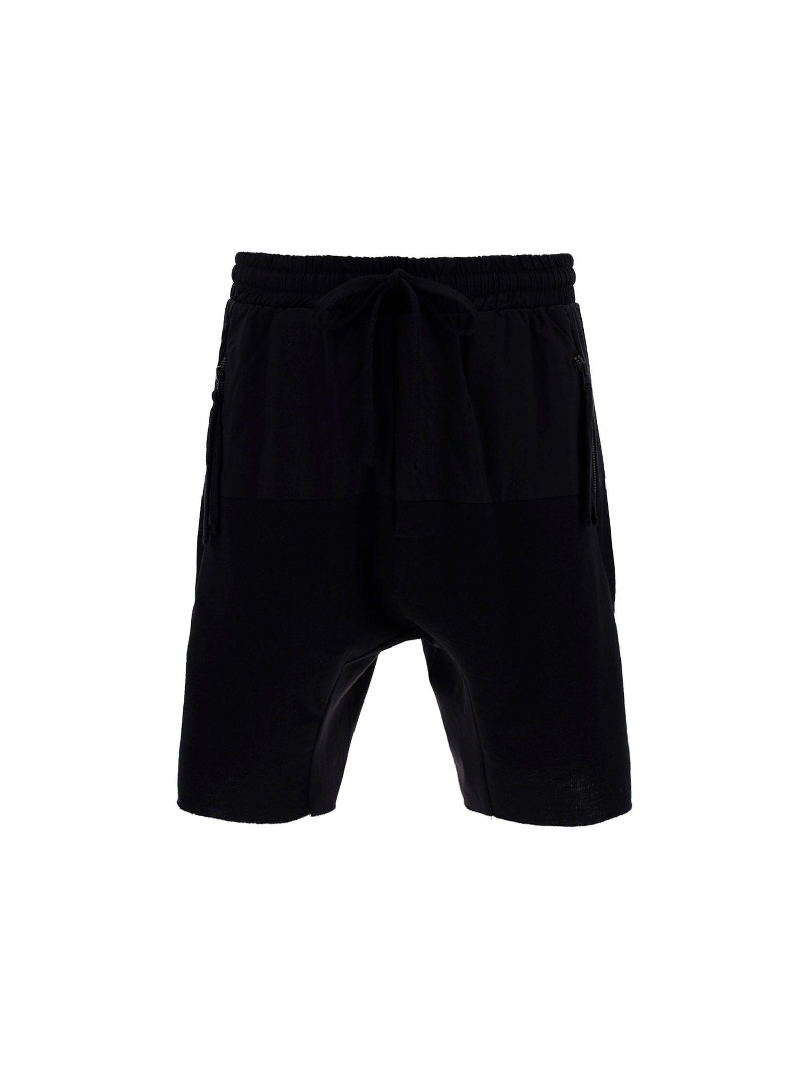 Thom Krom THOM KROM MEN'S BLACK OTHER MATERIALS PANTS