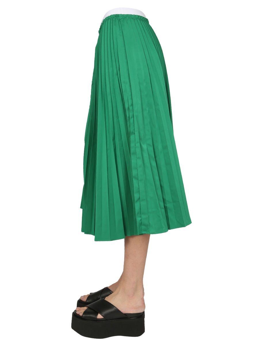 MARNI Skirts MARNI WOMEN'S GREEN OTHER MATERIALS SKIRT