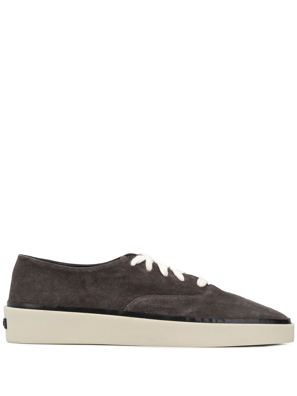 Fear Of God FEAR OF GOD MEN'S BROWN LEATHER SNEAKERS