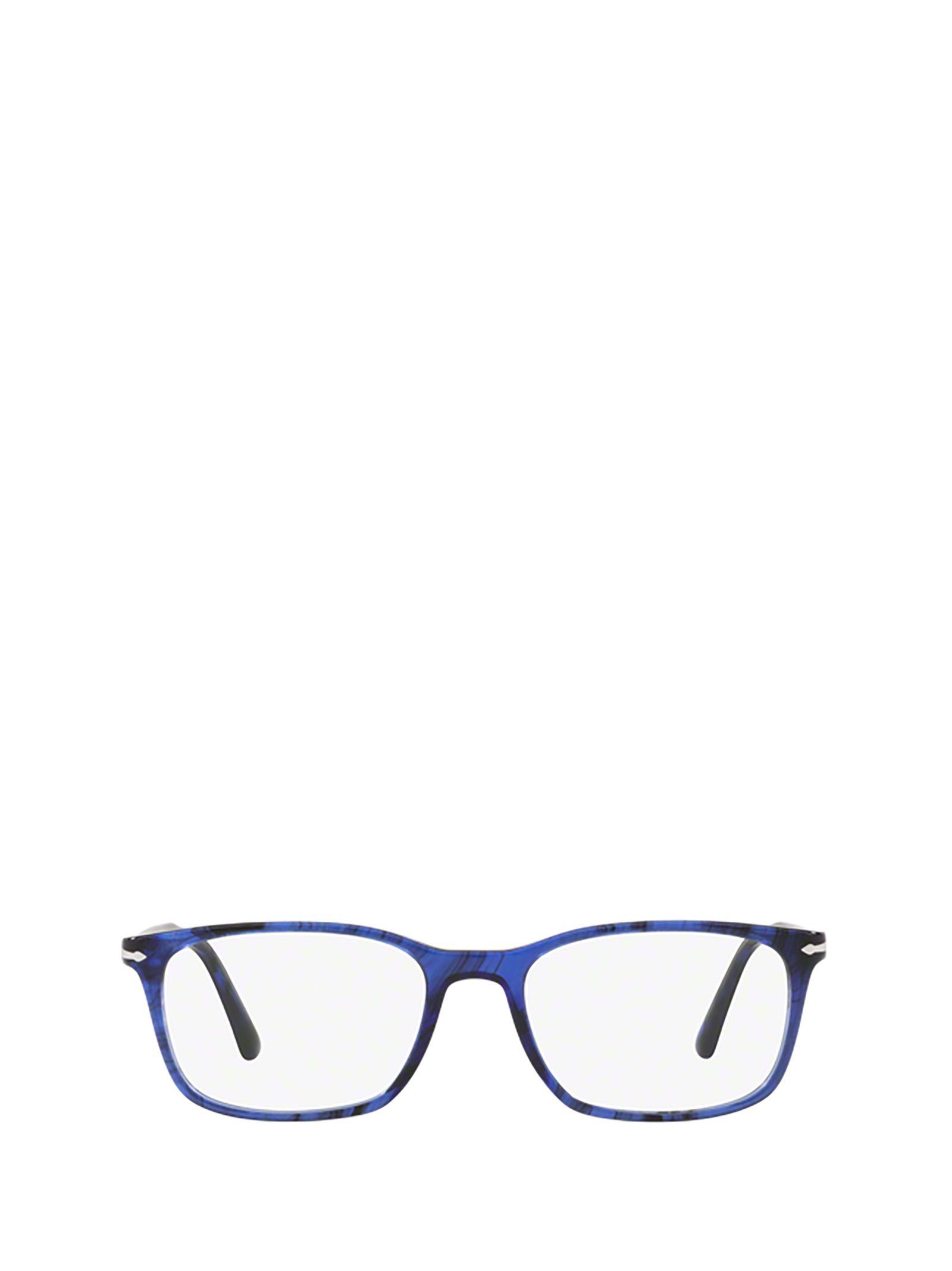Persol Men's Blue Acetate Glasses