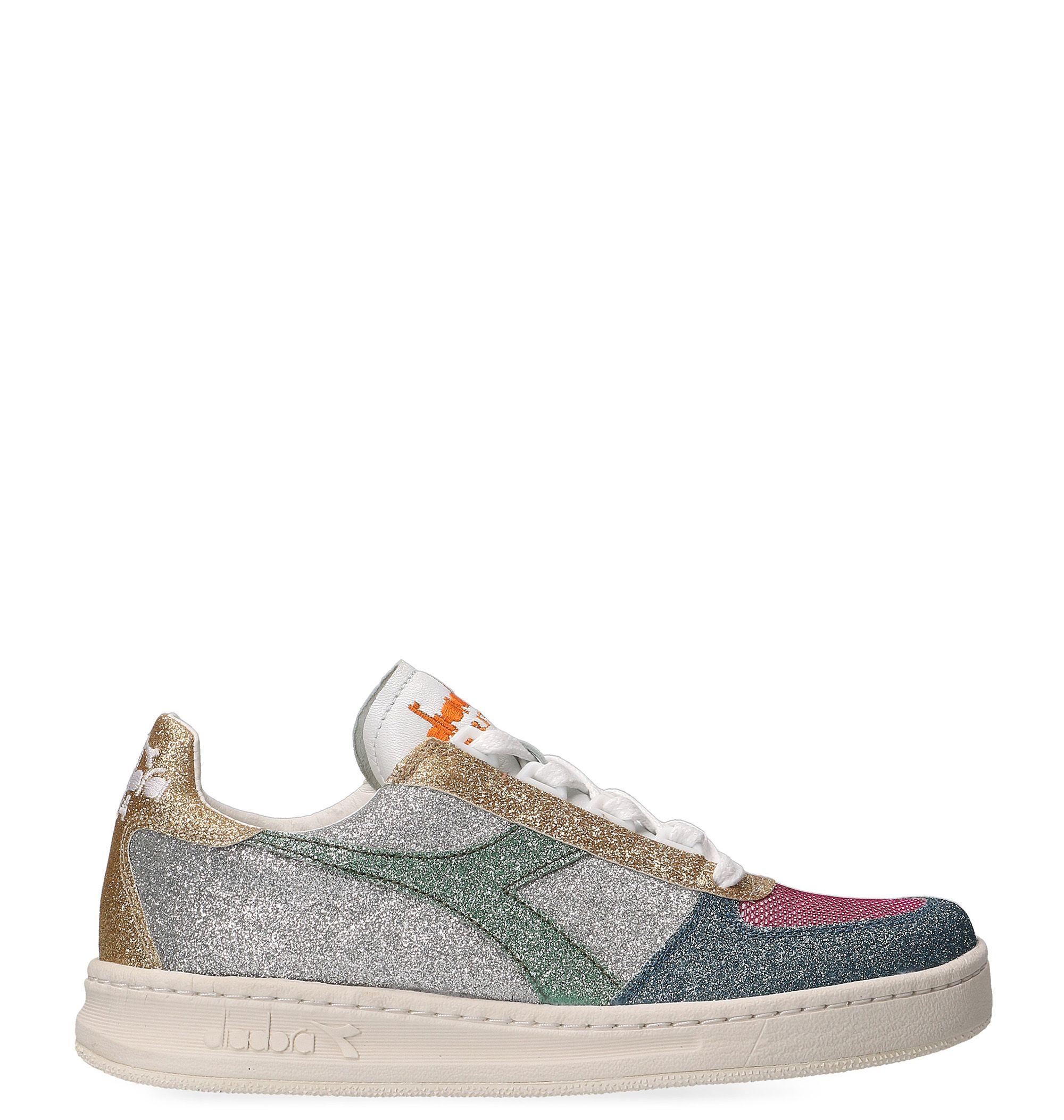 Diadora Multicolor Glitter Sneakers