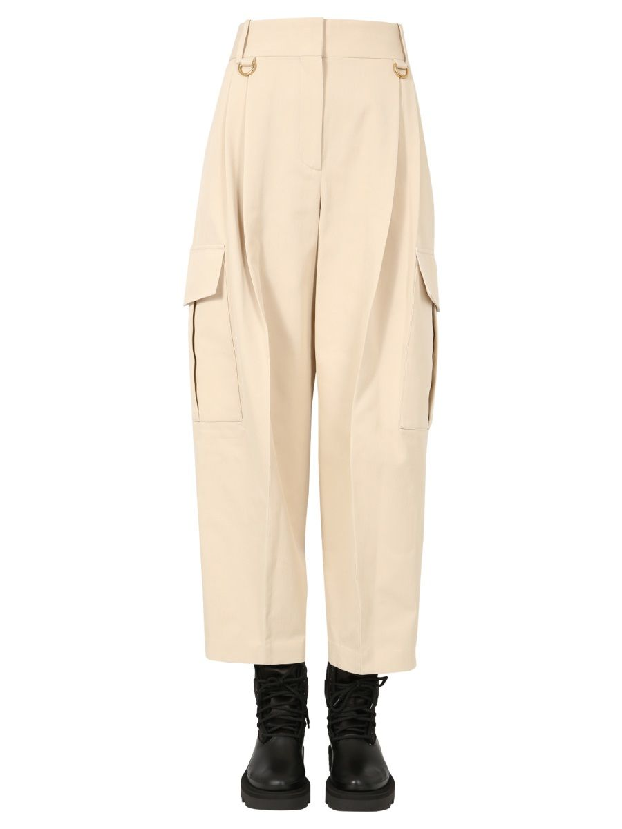 Givenchy GIVENCHY WOMEN'S WHITE OTHER MATERIALS PANTS