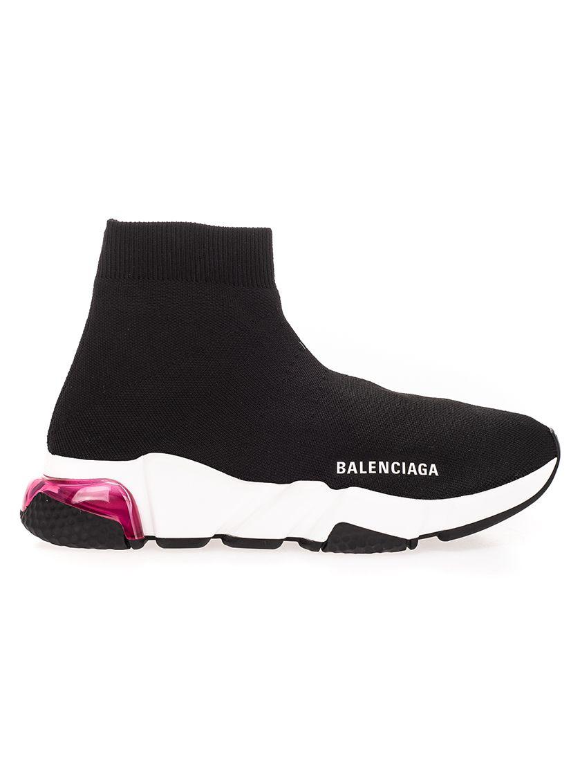 Balenciaga High tops BALENCIAGA WOMEN'S BLACK OTHER MATERIALS SNEAKERS