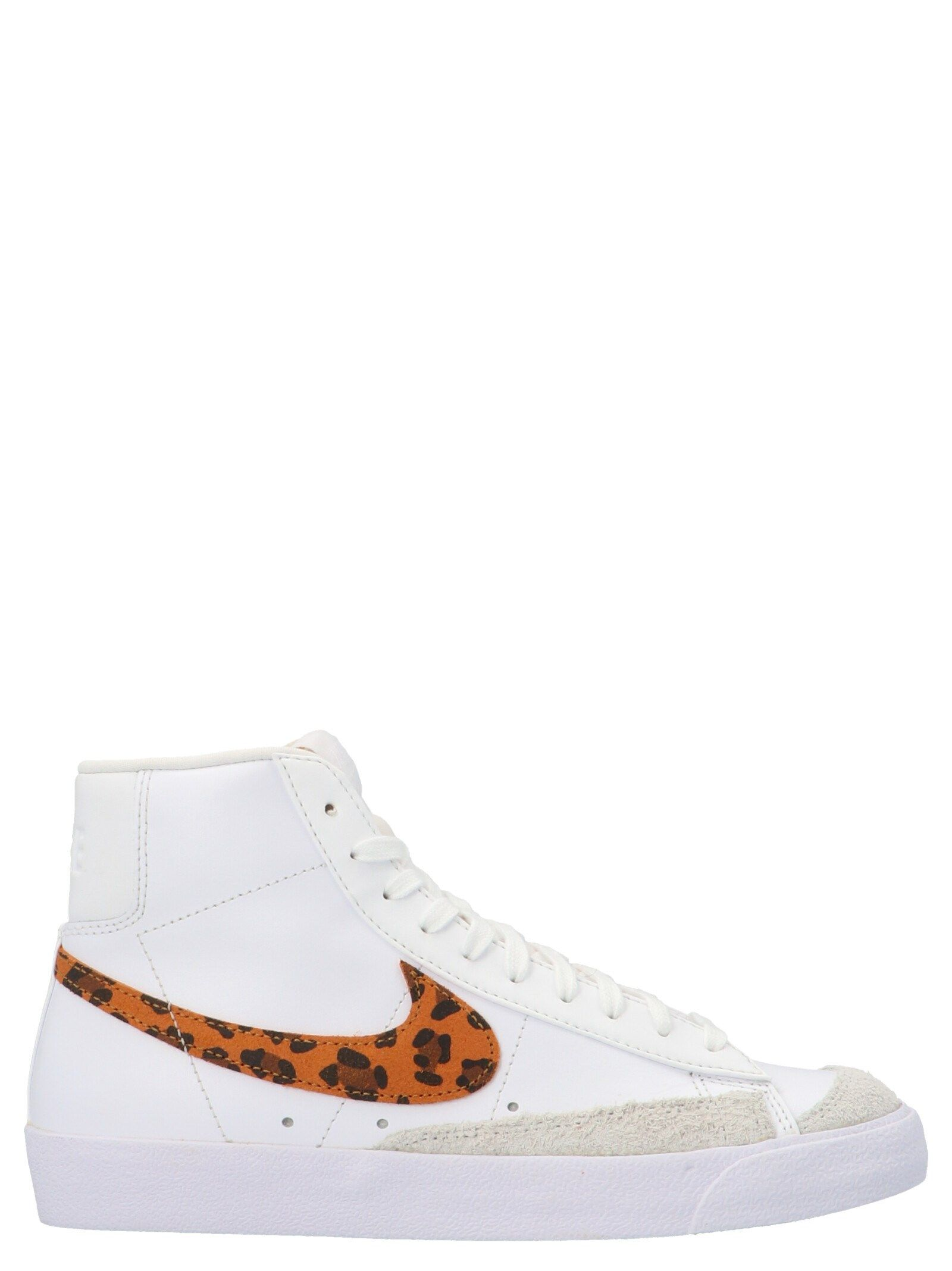 Nike NIKE WOMEN'S WHITE OTHER MATERIALS SNEAKERS