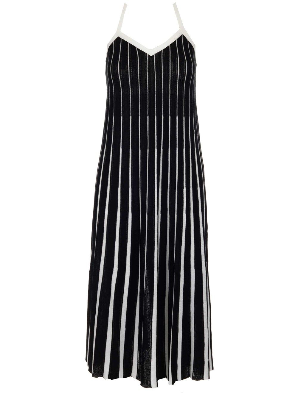 Red Valentino RED VALENTINO WOMEN'S BLACK OTHER MATERIALS DRESS