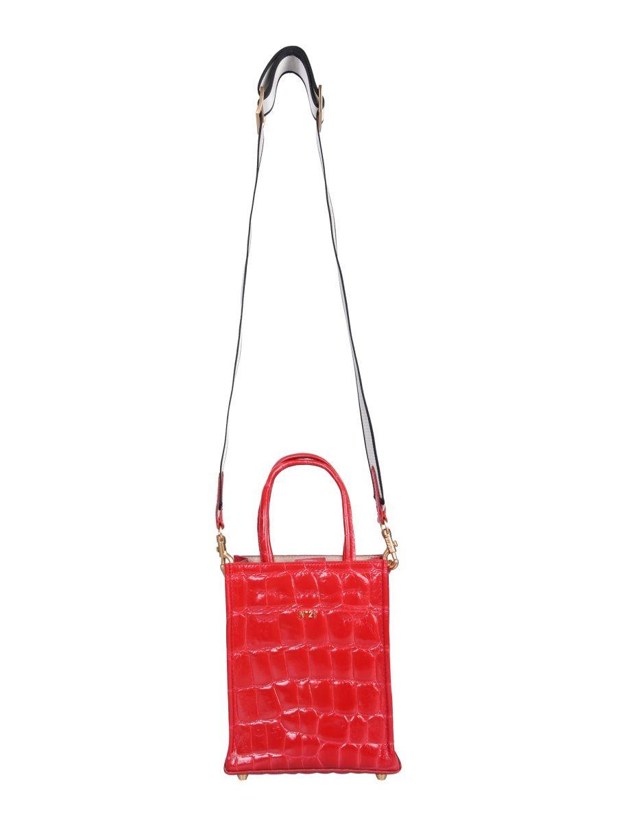 N°21 N°21 WOMEN'S RED SHOULDER BAG