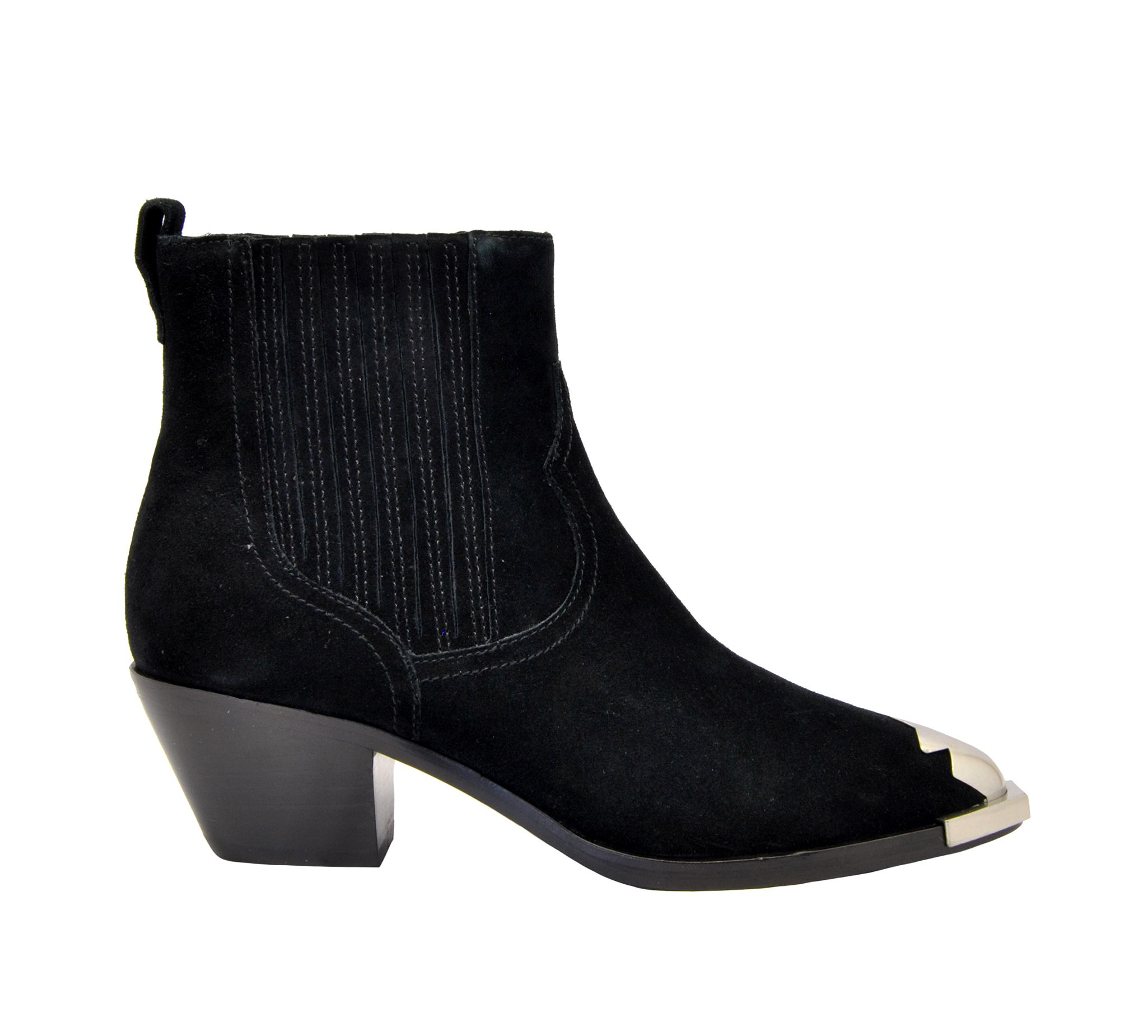 sale retailer new cheap new arrival Black Suede Ankle Boots