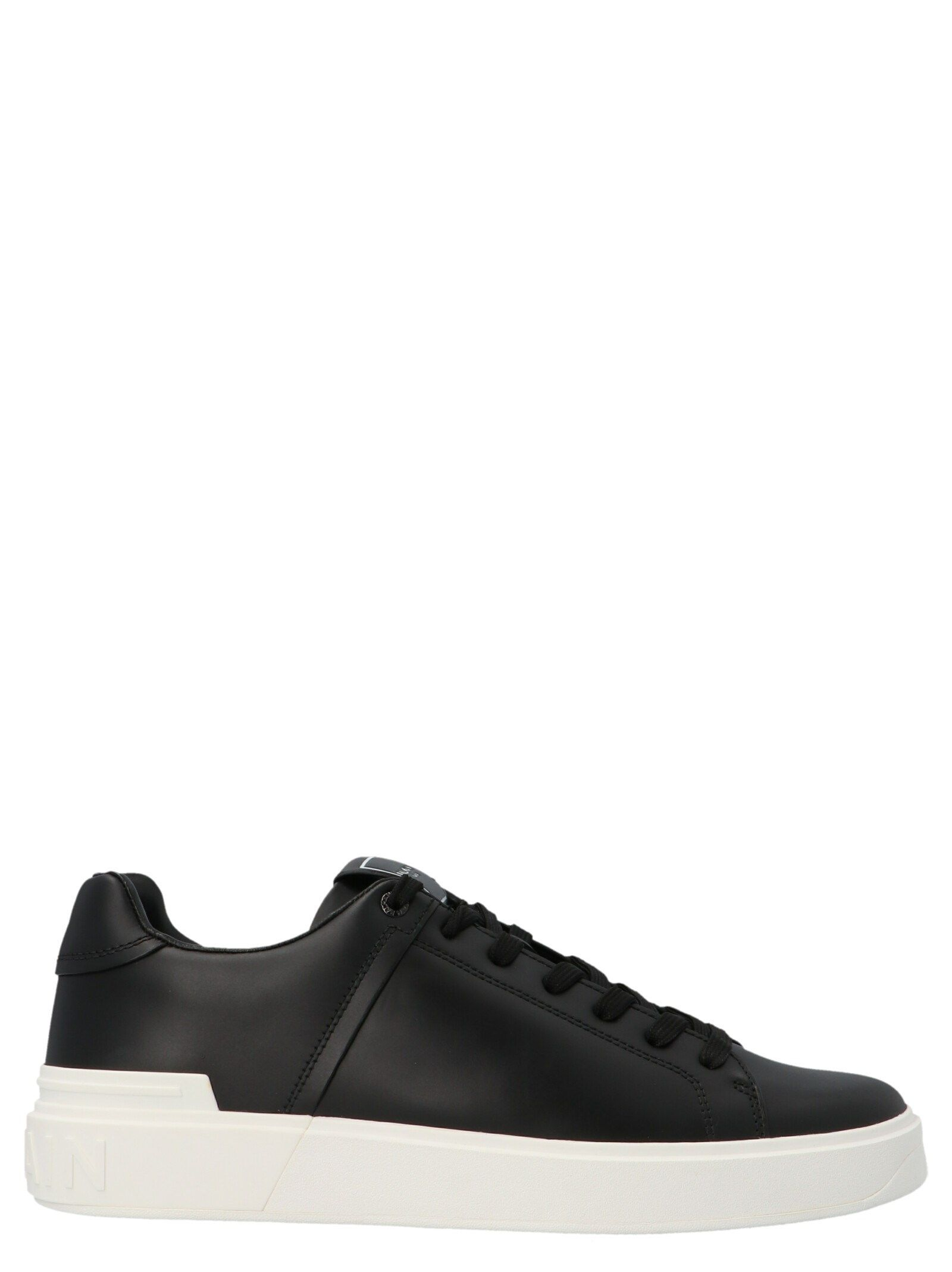 Balmain Sneakers BALMAIN MEN'S BLACK OTHER MATERIALS SNEAKERS