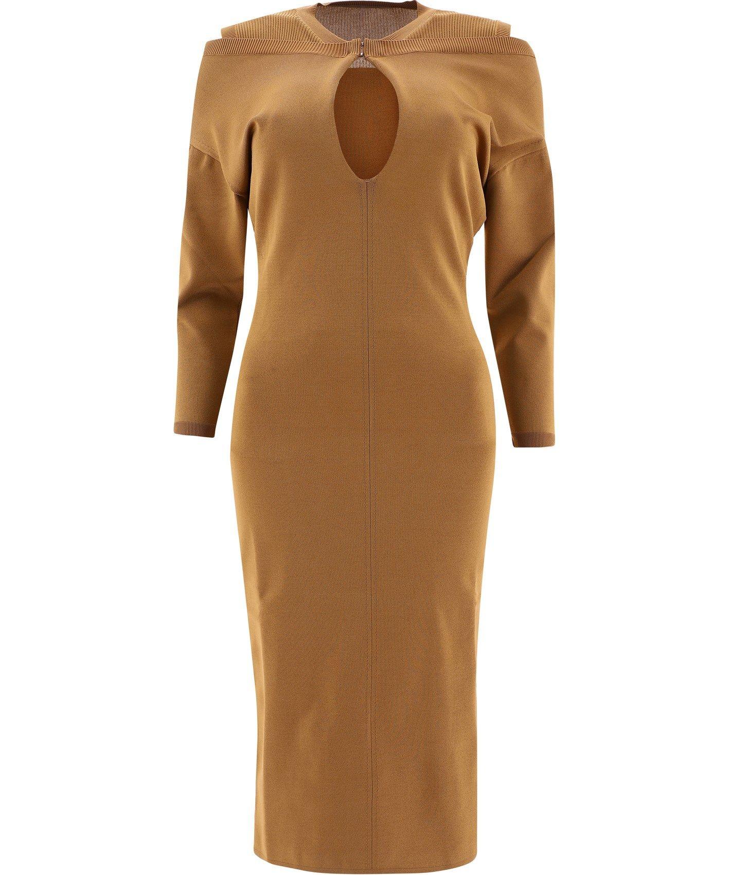 Burberry Dresses BURBERRY WOMEN'S BEIGE DRESS