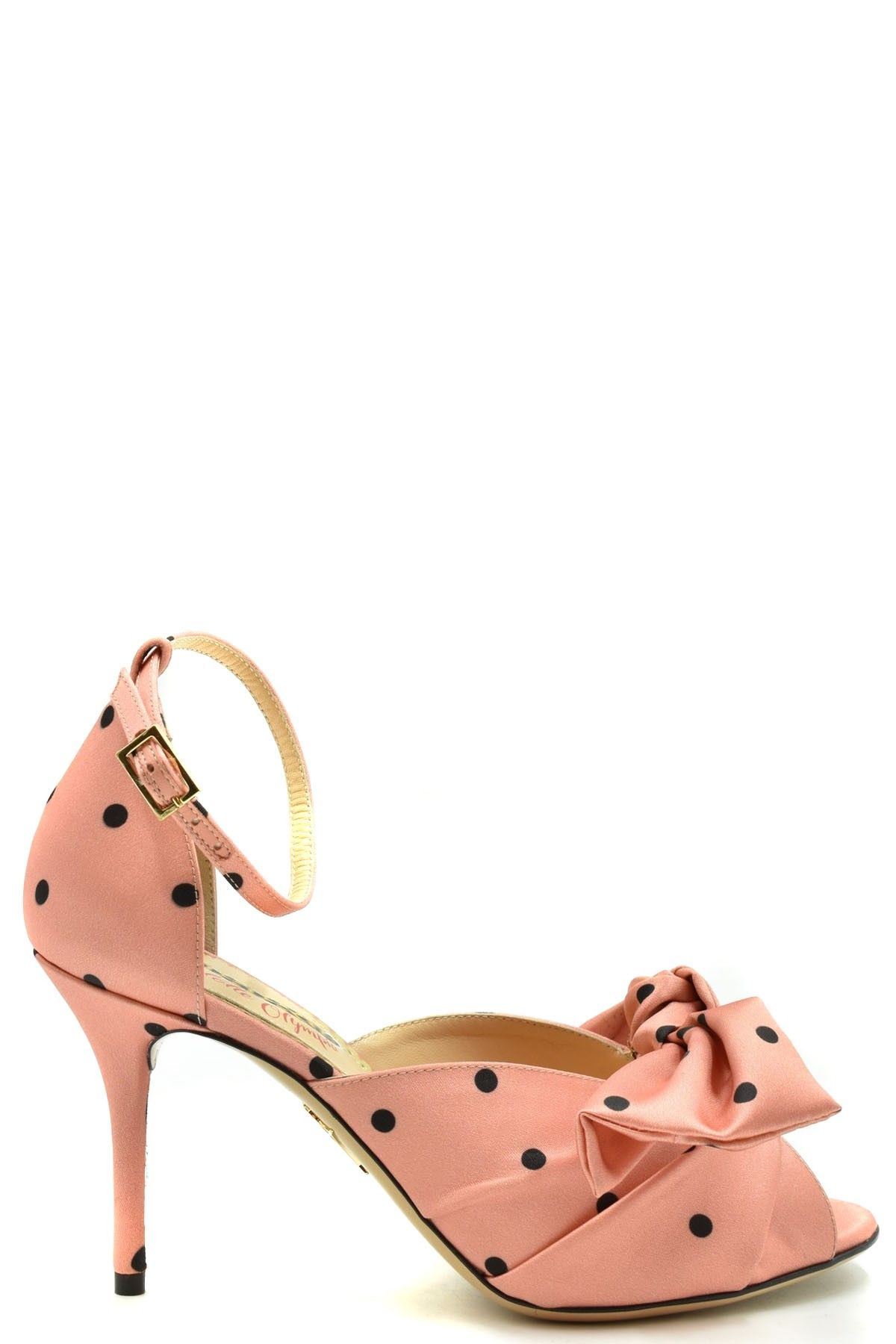 Charlotte Olympia CHARLOTTE OLYMPIA WOMEN'S PINK FABRIC SANDALS