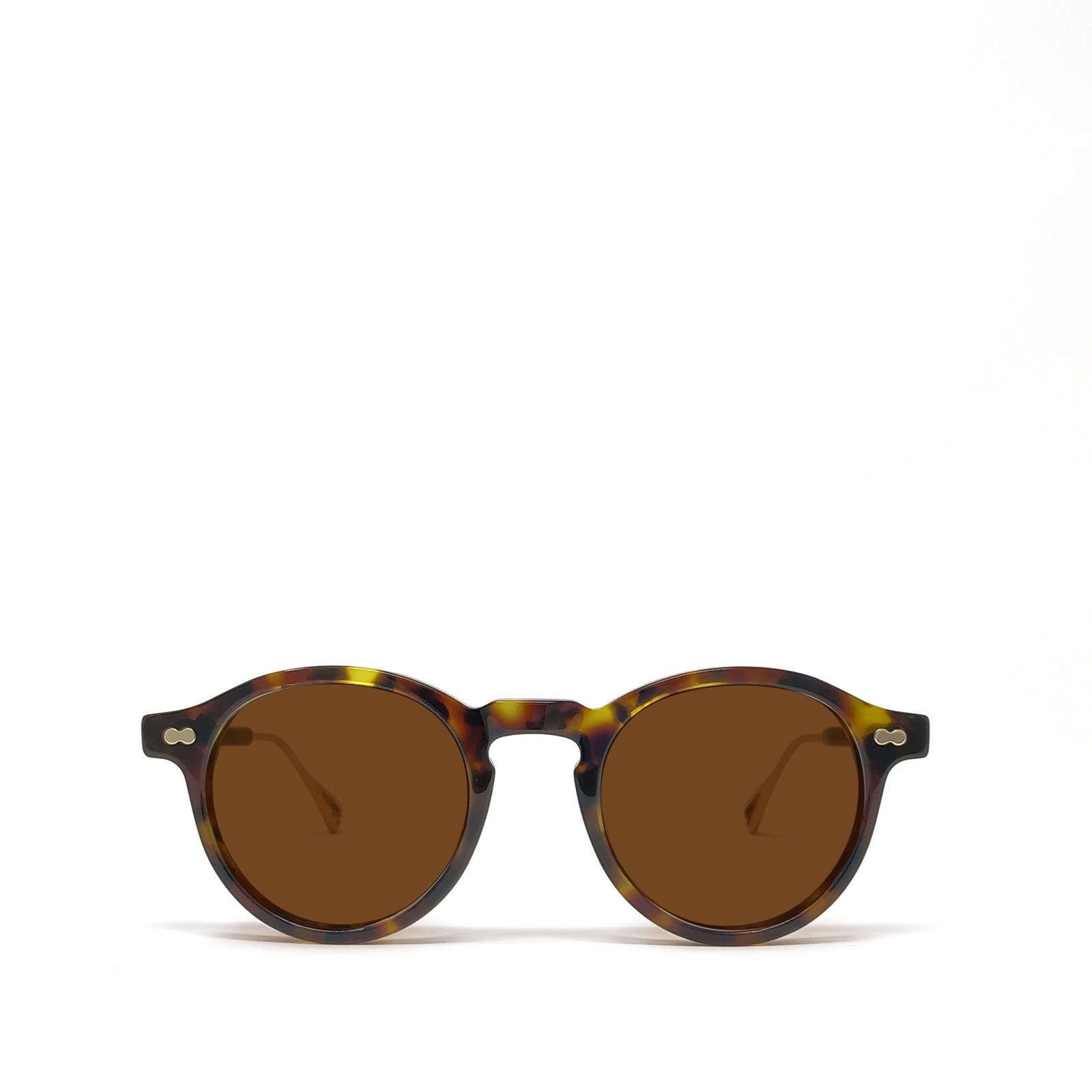 Moscot MOSCOT WOMEN'S BROWN ACETATE SUNGLASSES