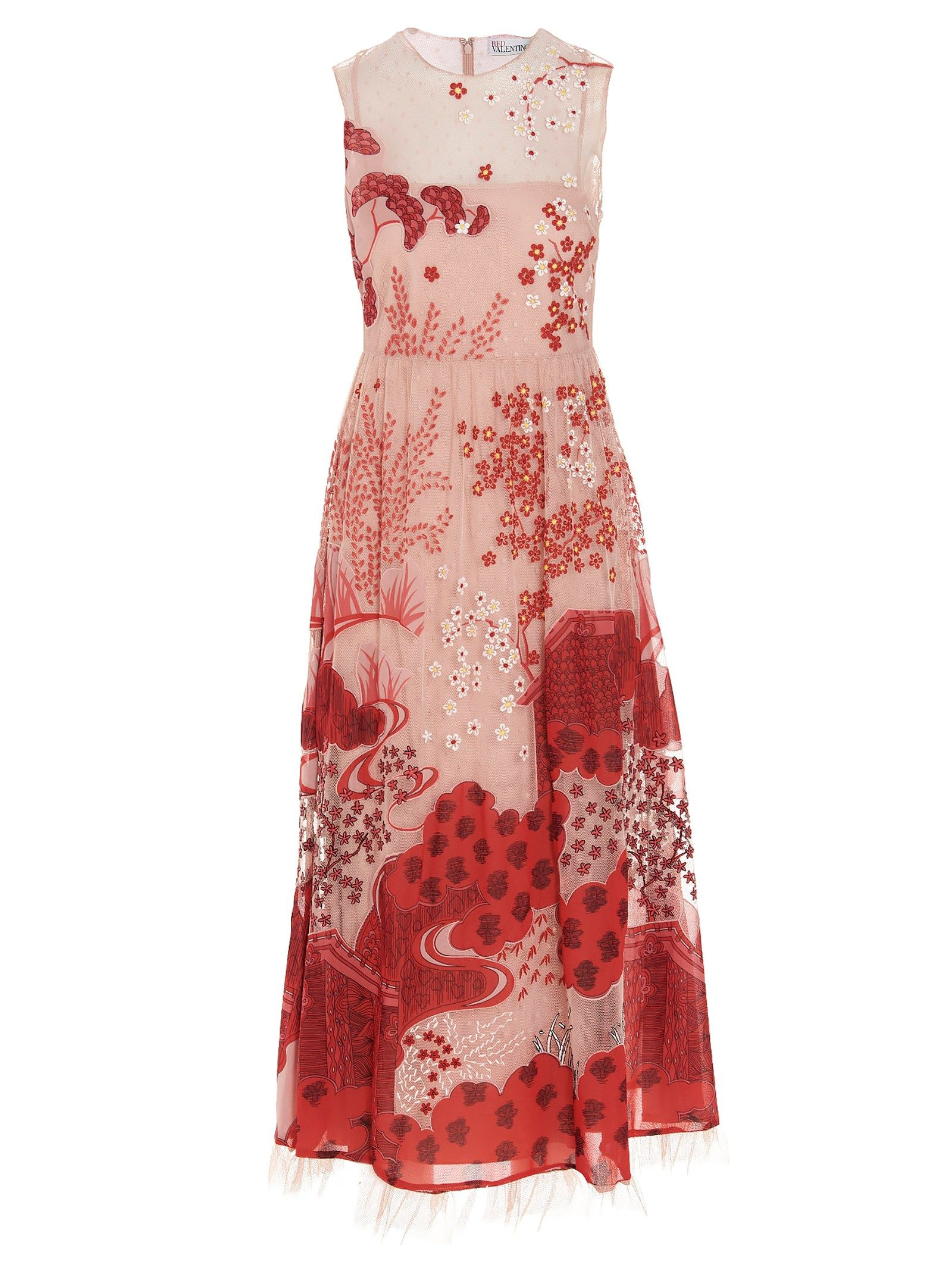 Red Valentino Dresses RED VALENTINO WOMEN'S MULTICOLOR POLYESTER DRESS