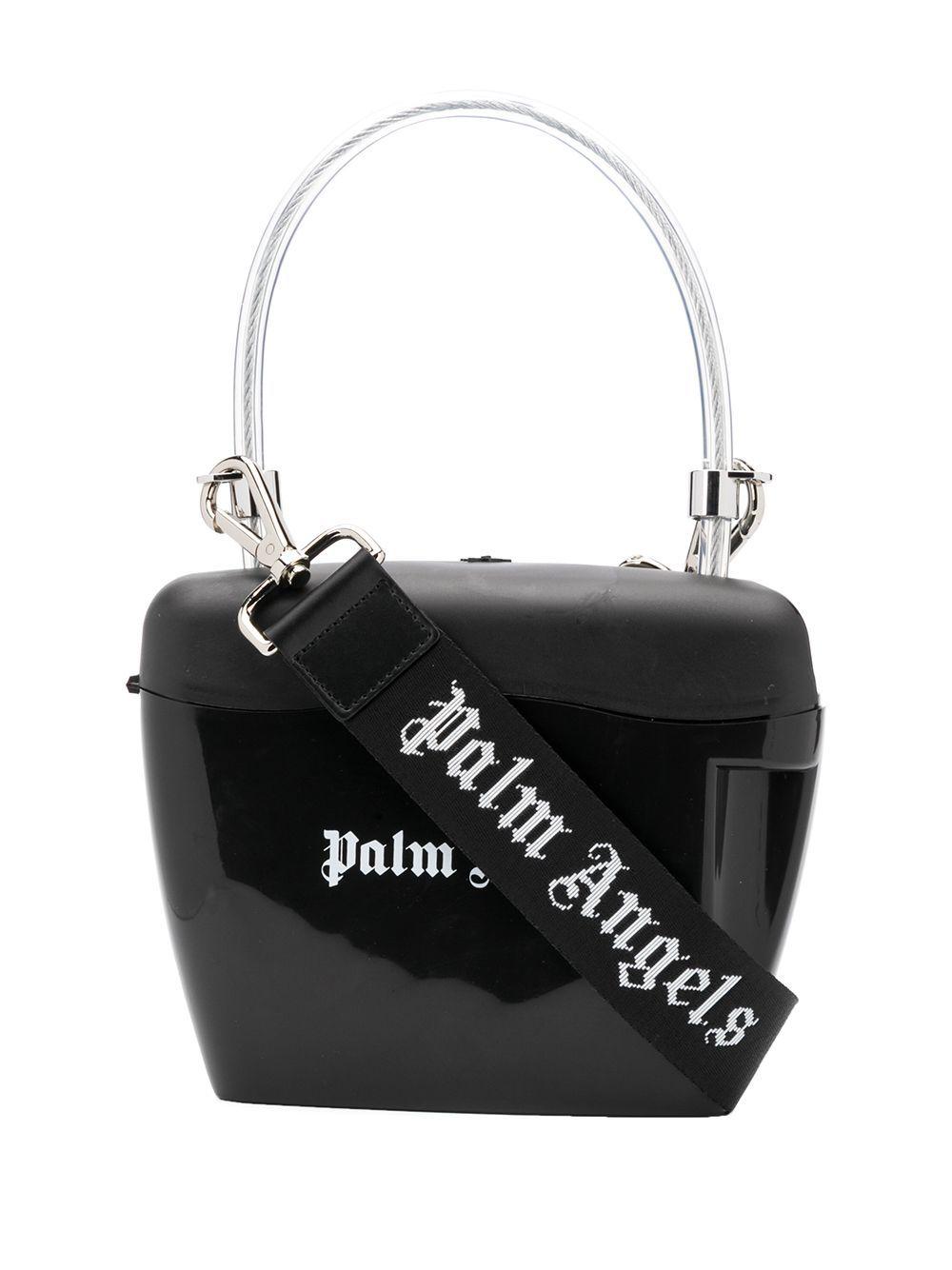 Palm Angels Women's Black Pvc Handbag