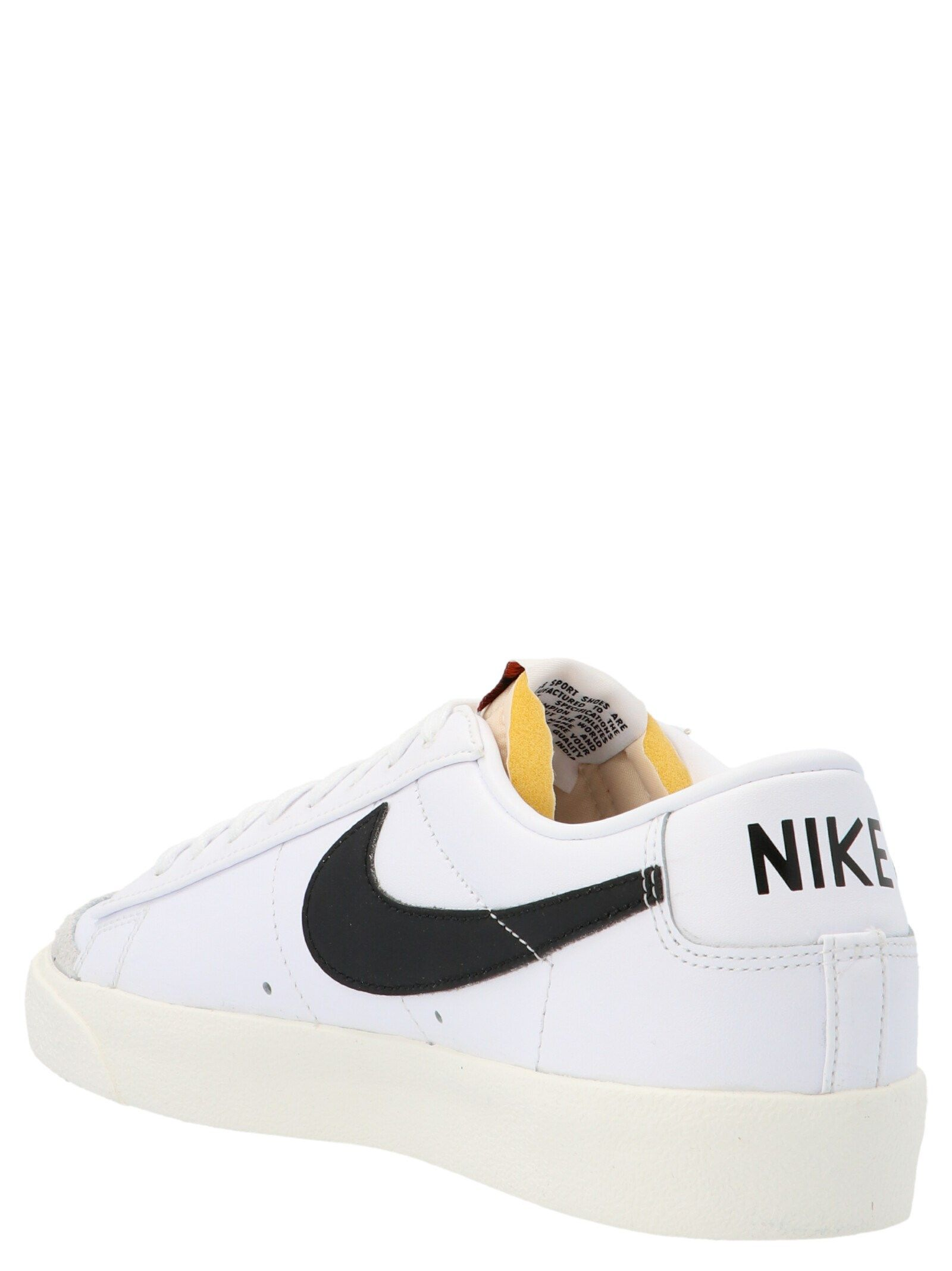 NIKE Sneakers NIKE MEN'S WHITE OTHER MATERIALS SNEAKERS