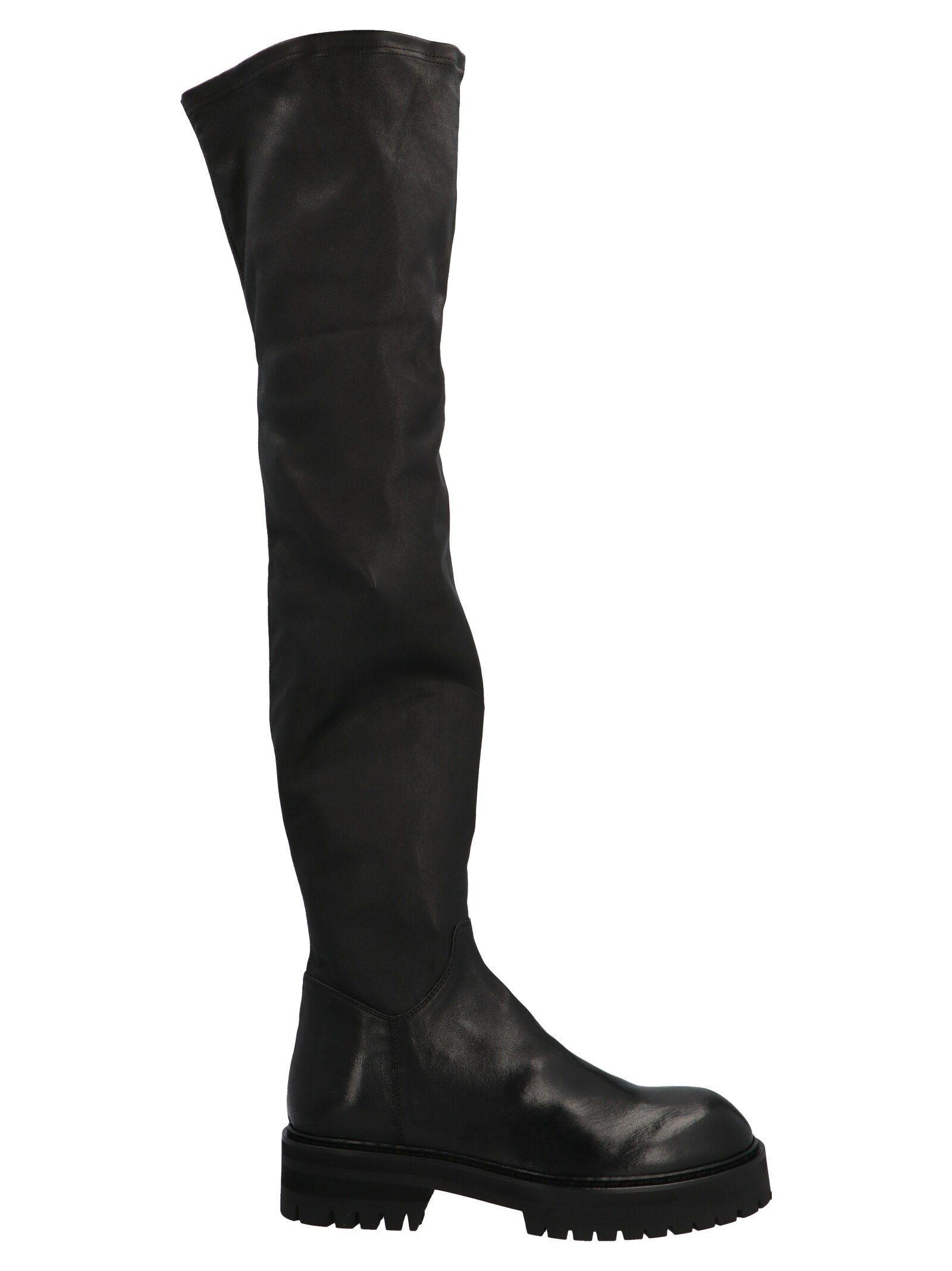 Ann Demeulemeester ANN DEMEULEMEESTER WOMEN'S BLACK ANKLE BOOTS