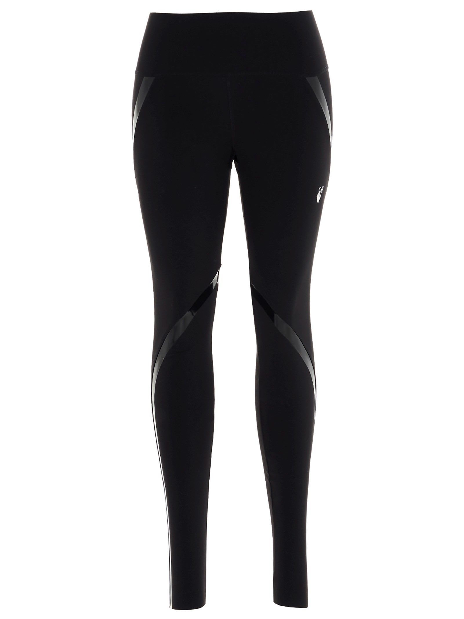 Off-White OFF-WHITE WOMEN'S BLACK POLYAMIDE LEGGINGS