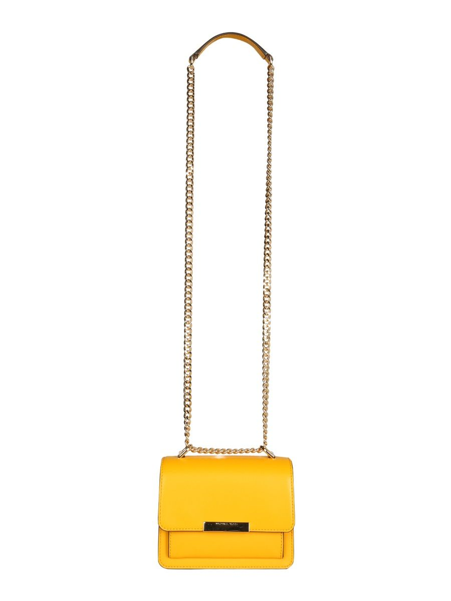 Michael Kors MICHAEL KORS WOMEN'S YELLOW LEATHER SHOULDER BAG