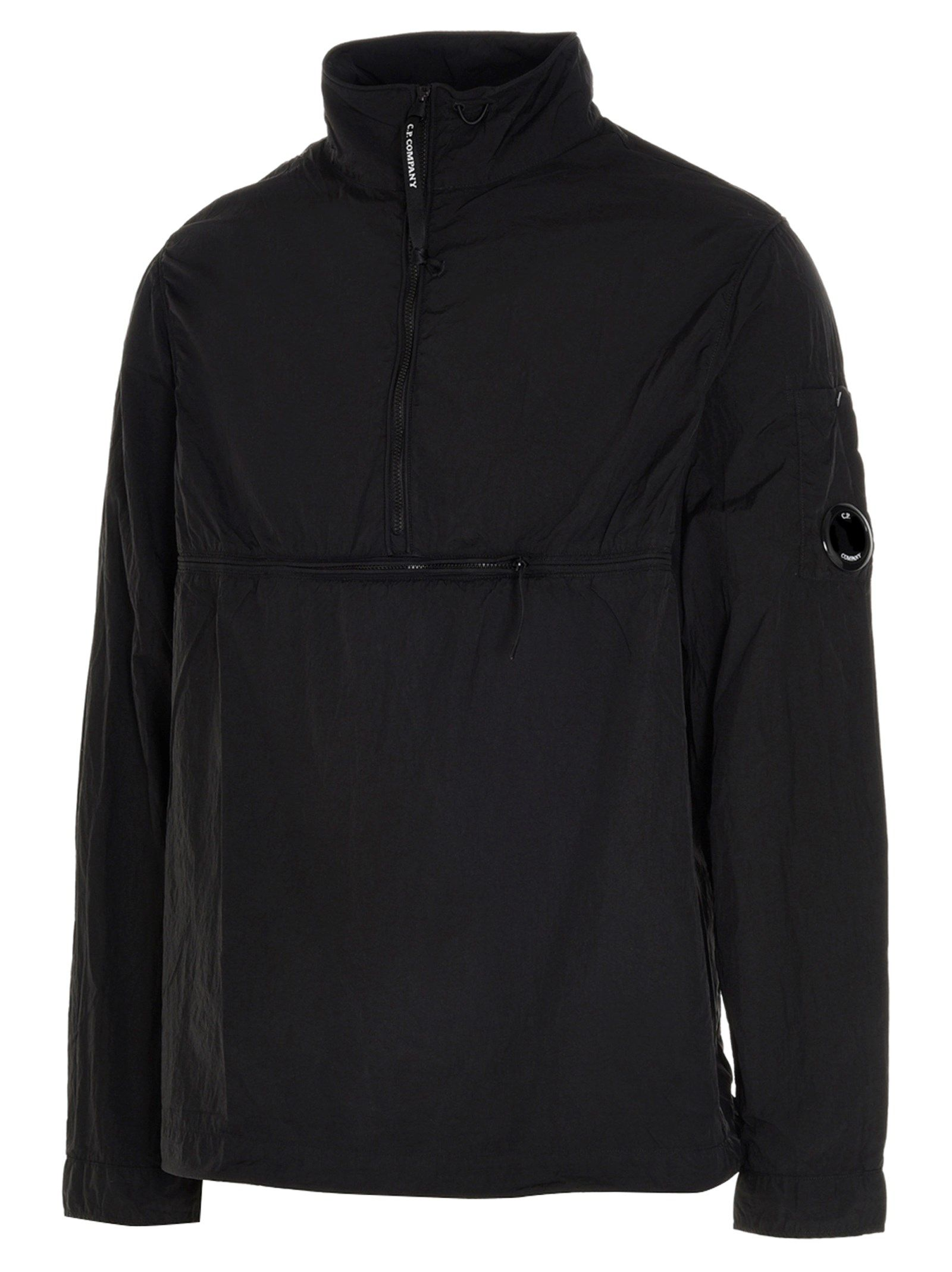 C.P. COMPANY Jackets CP COMPANY MEN'S BLACK OTHER MATERIALS OUTERWEAR JACKET