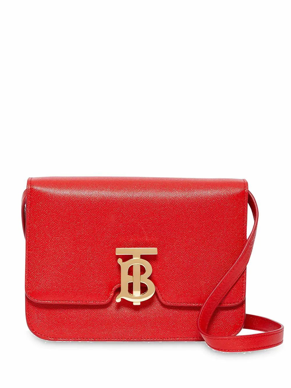 Burberry BURBERRY WOMEN'S RED LEATHER SHOULDER BAG