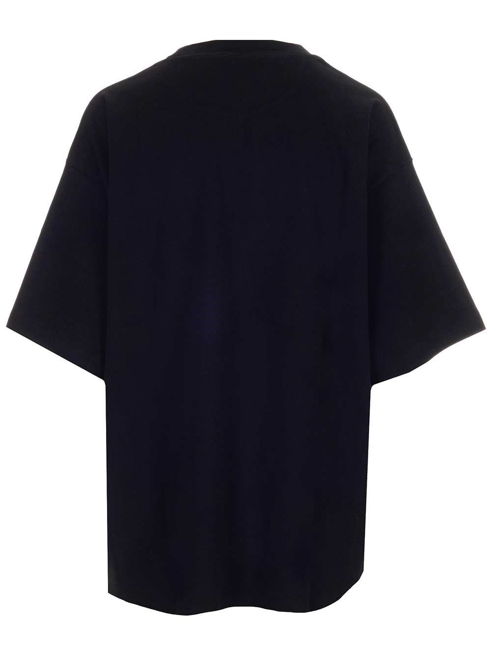 OFF-WHITE Cottons OFF-WHITE WOMEN'S BLACK OTHER MATERIALS T-SHIRT