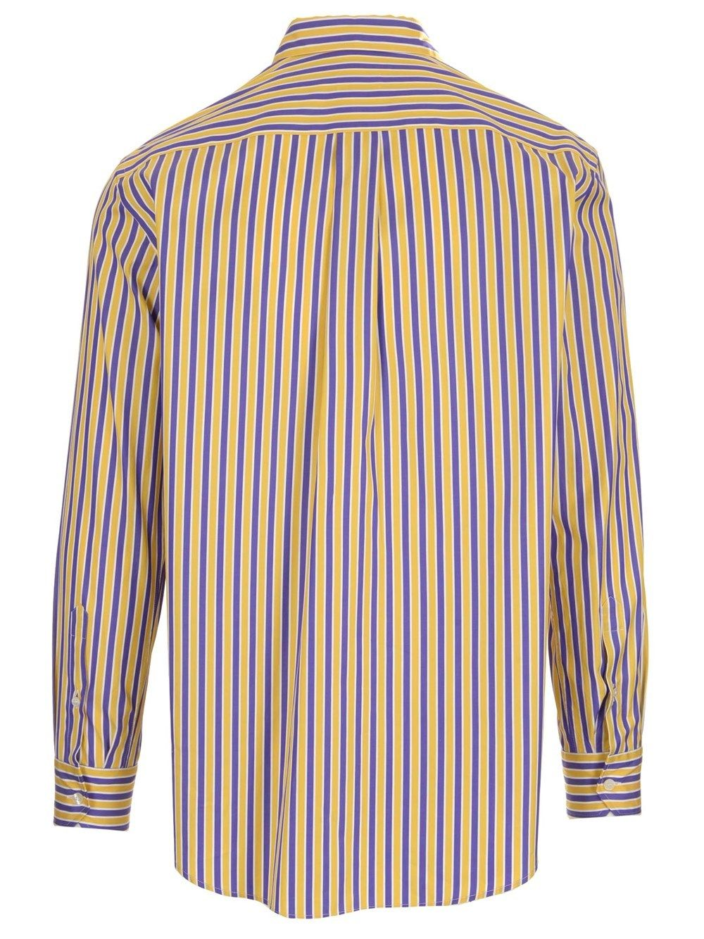 ETRO Cottons ETRO MEN'S YELLOW OTHER MATERIALS SHIRT
