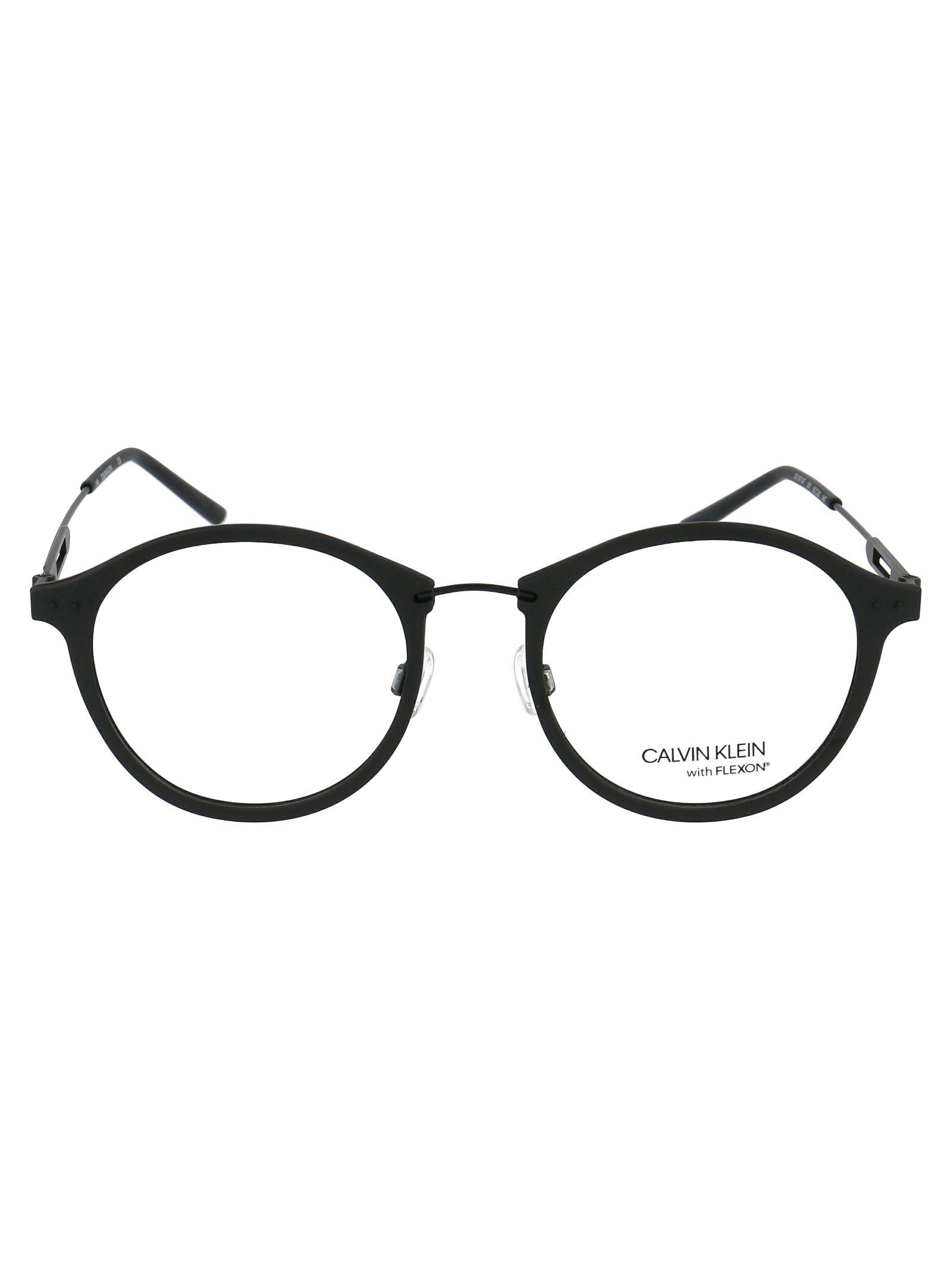 Calvin Klein Black Metal Glasses